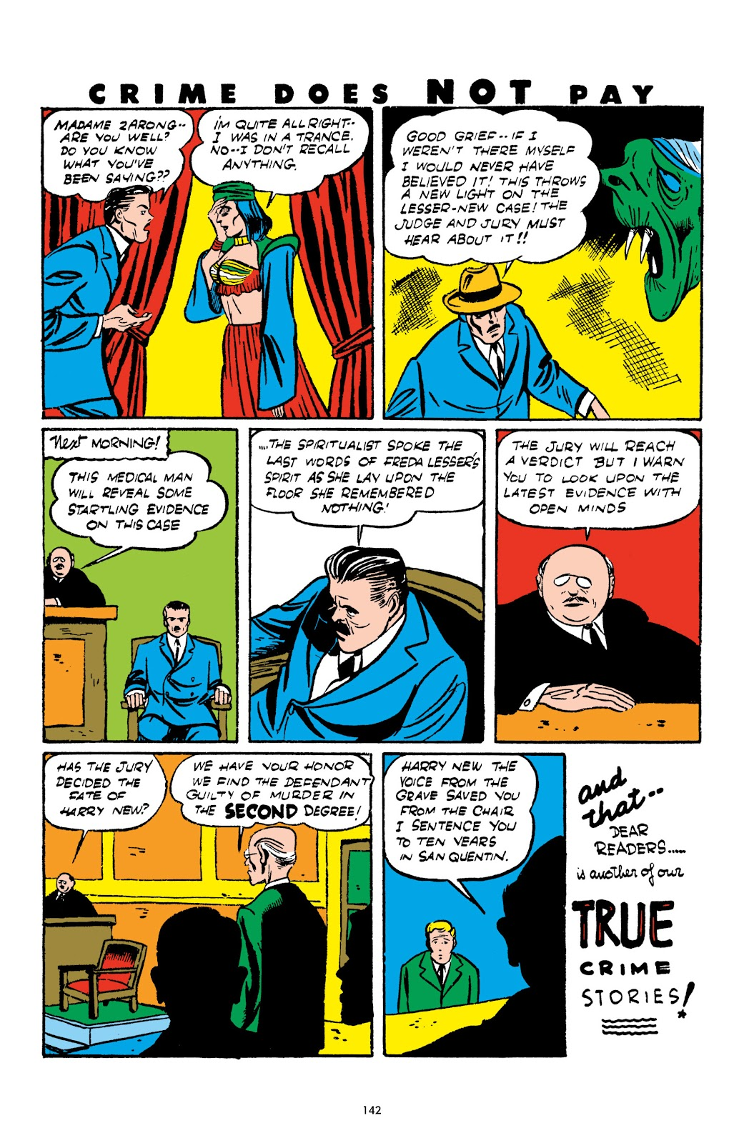 Read online Crime Does Not Pay Archives comic -  Issue # TPB 2 (Part 2) - 42