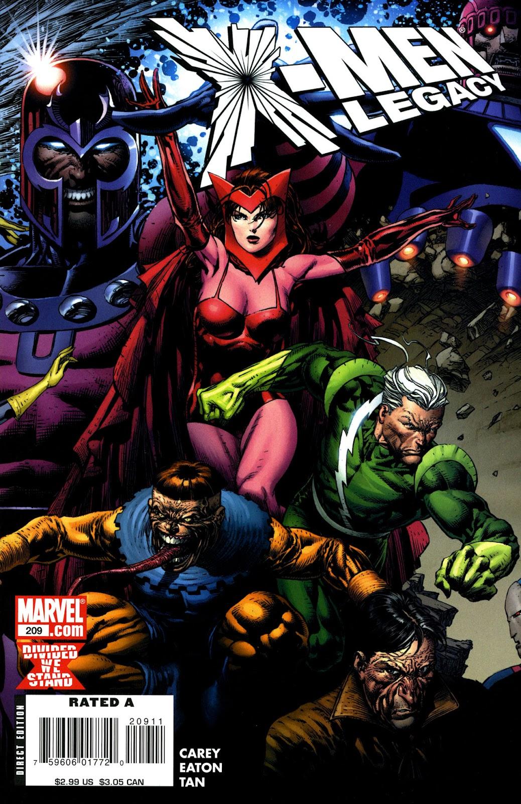 X-Men Legacy (2008) 209 Page 1