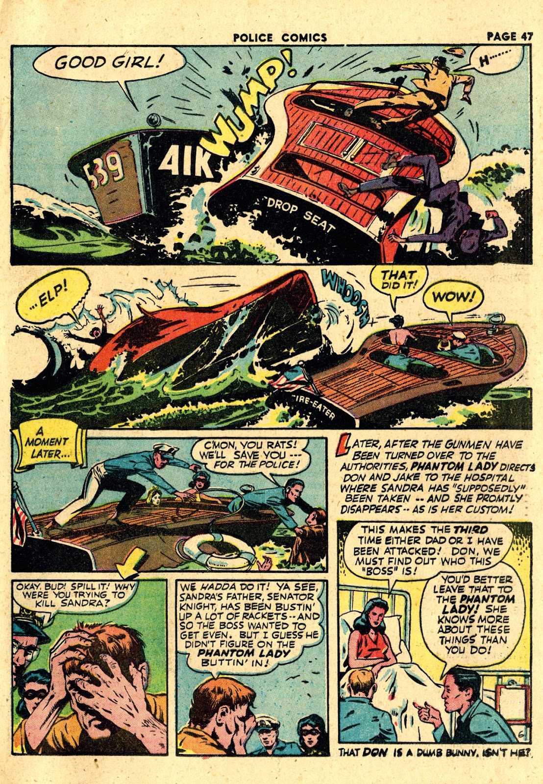 Police Comics issue 19 - Page 49