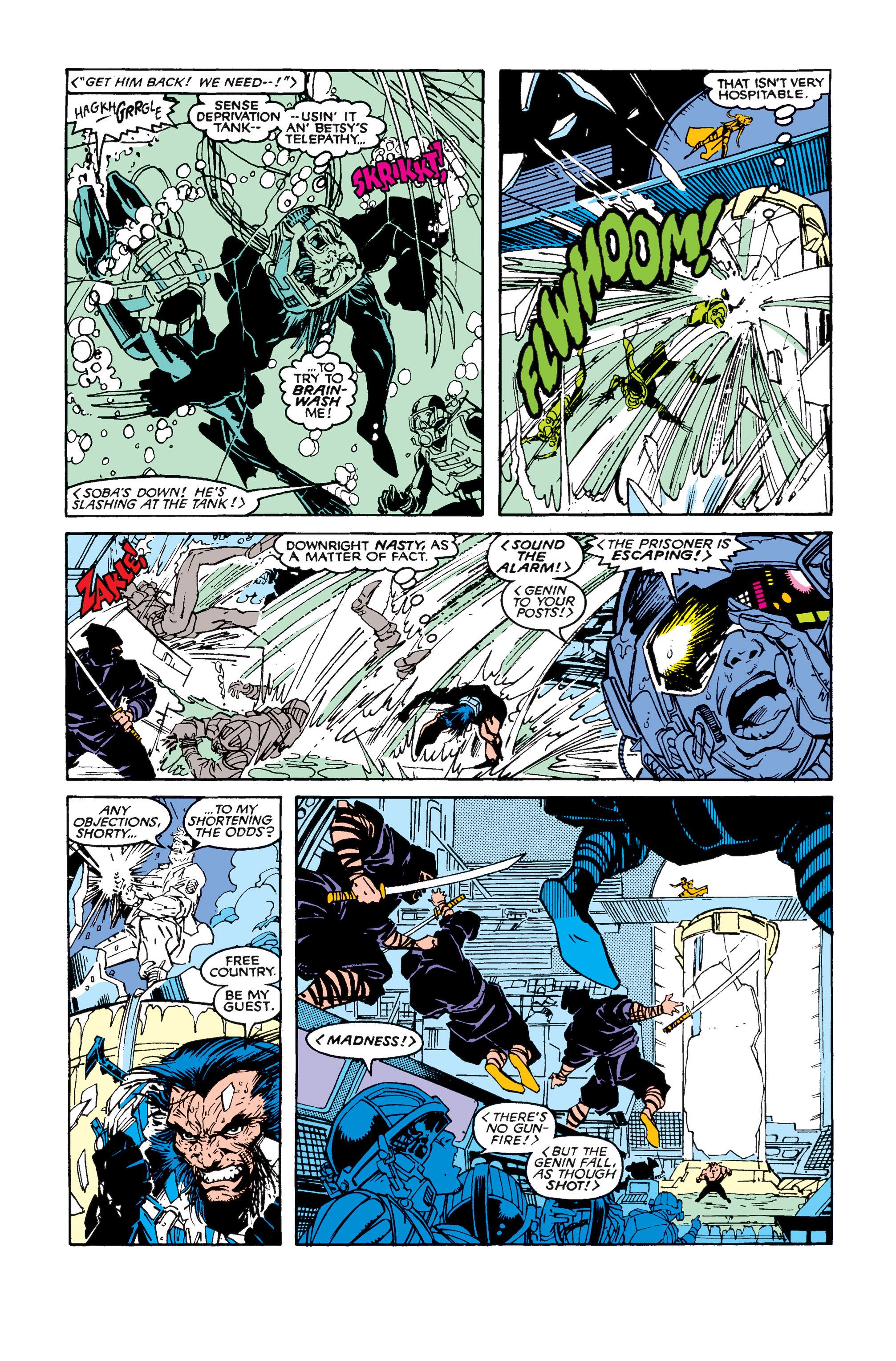 Read online Uncanny X-Men (1963) comic -  Issue #258 - 17