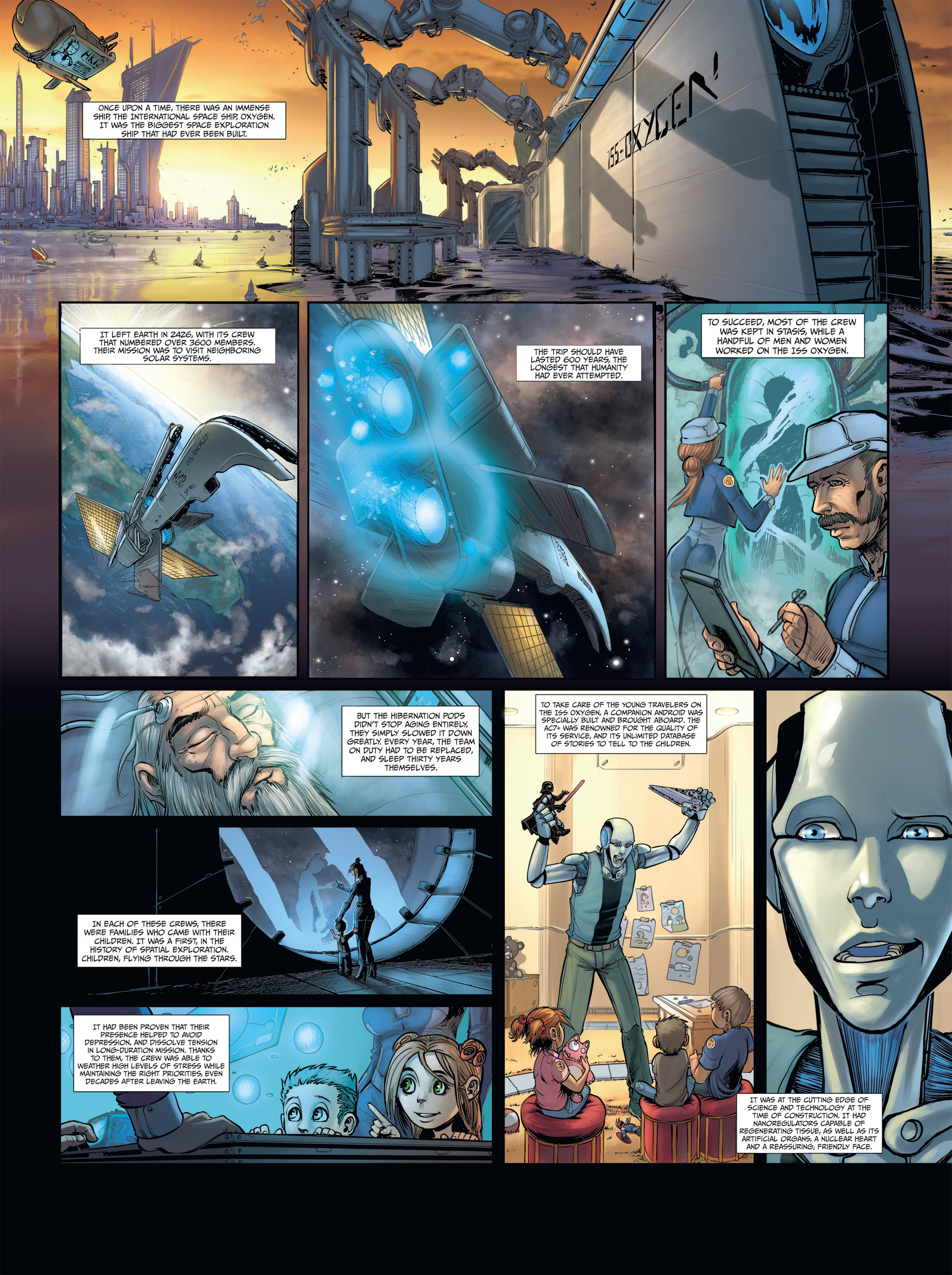 Read online Androïds comic -  Issue #2 - 5