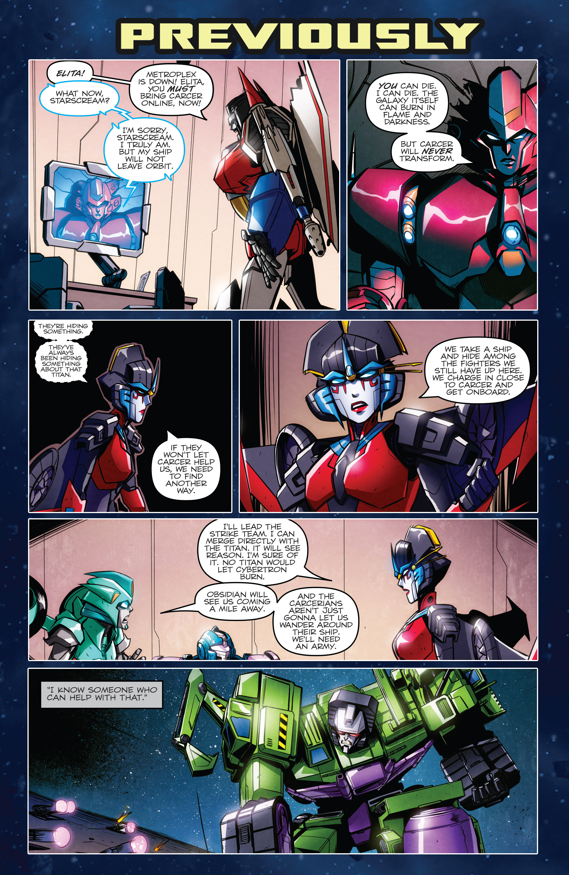 Read online Transformers: Till All Are One comic -  Issue #7 - 3