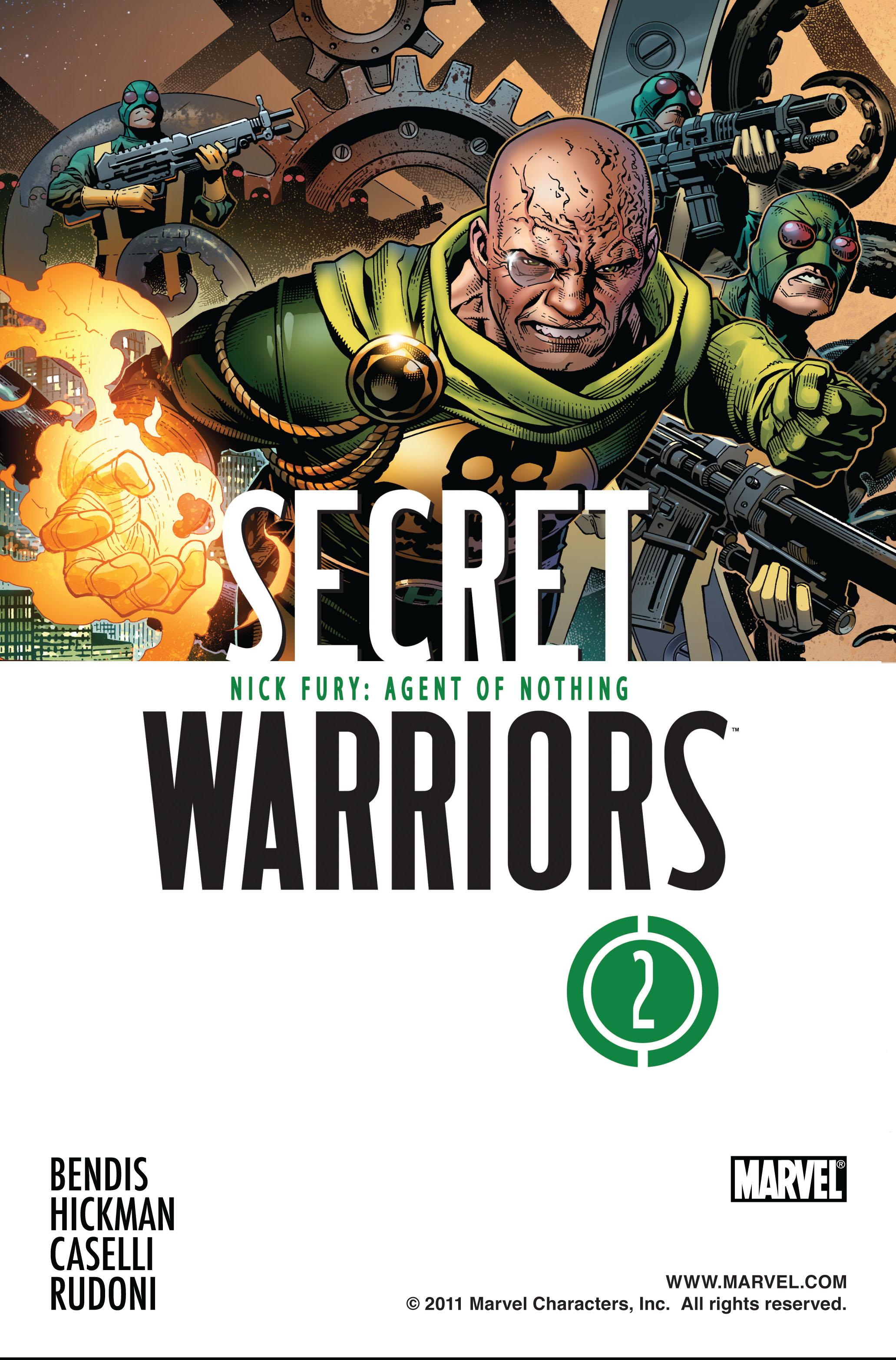 Read online Secret Warriors comic -  Issue #2 - 2