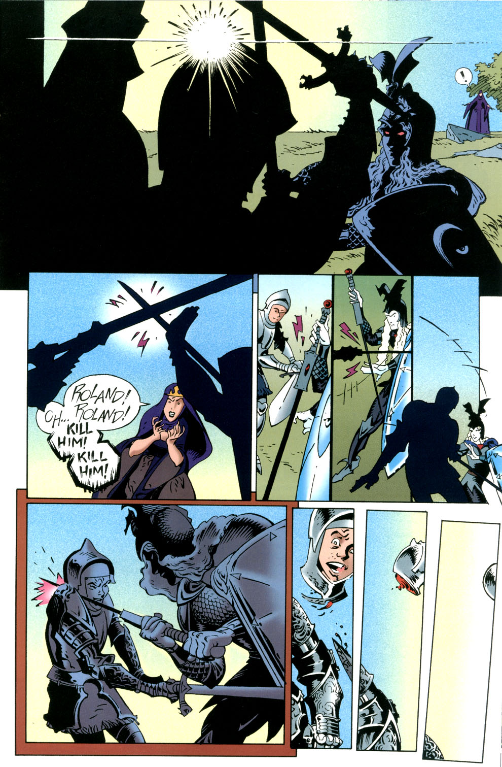 Read online Elric: Stormbringer comic -  Issue #6 - 21