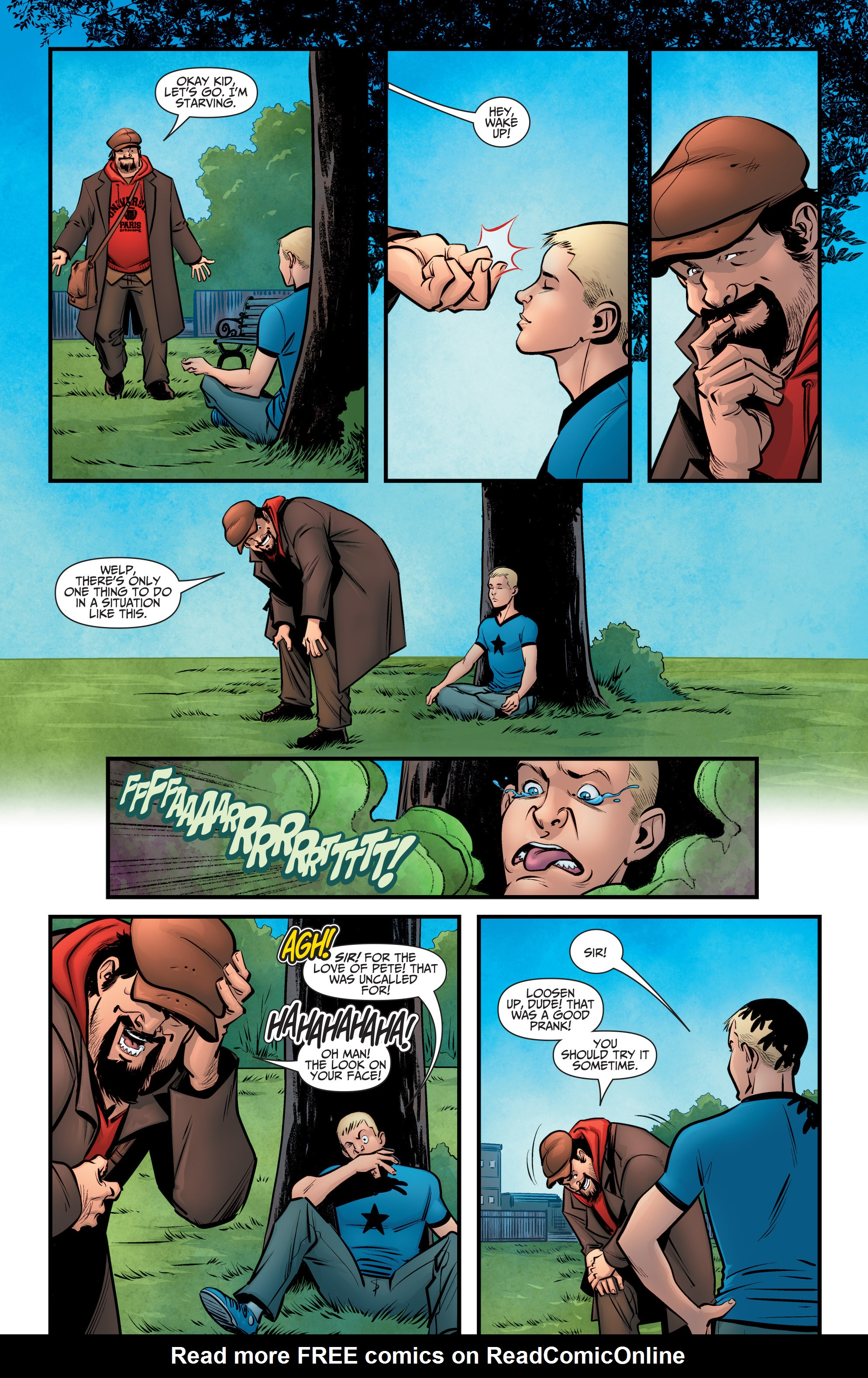 Read online A&A: The Adventures of Archer & Armstrong comic -  Issue #6 - 6
