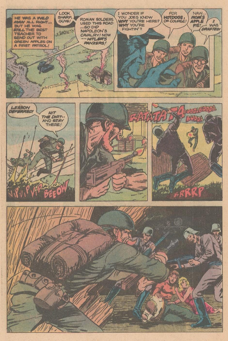Read online Sgt. Rock comic -  Issue #353 - 26