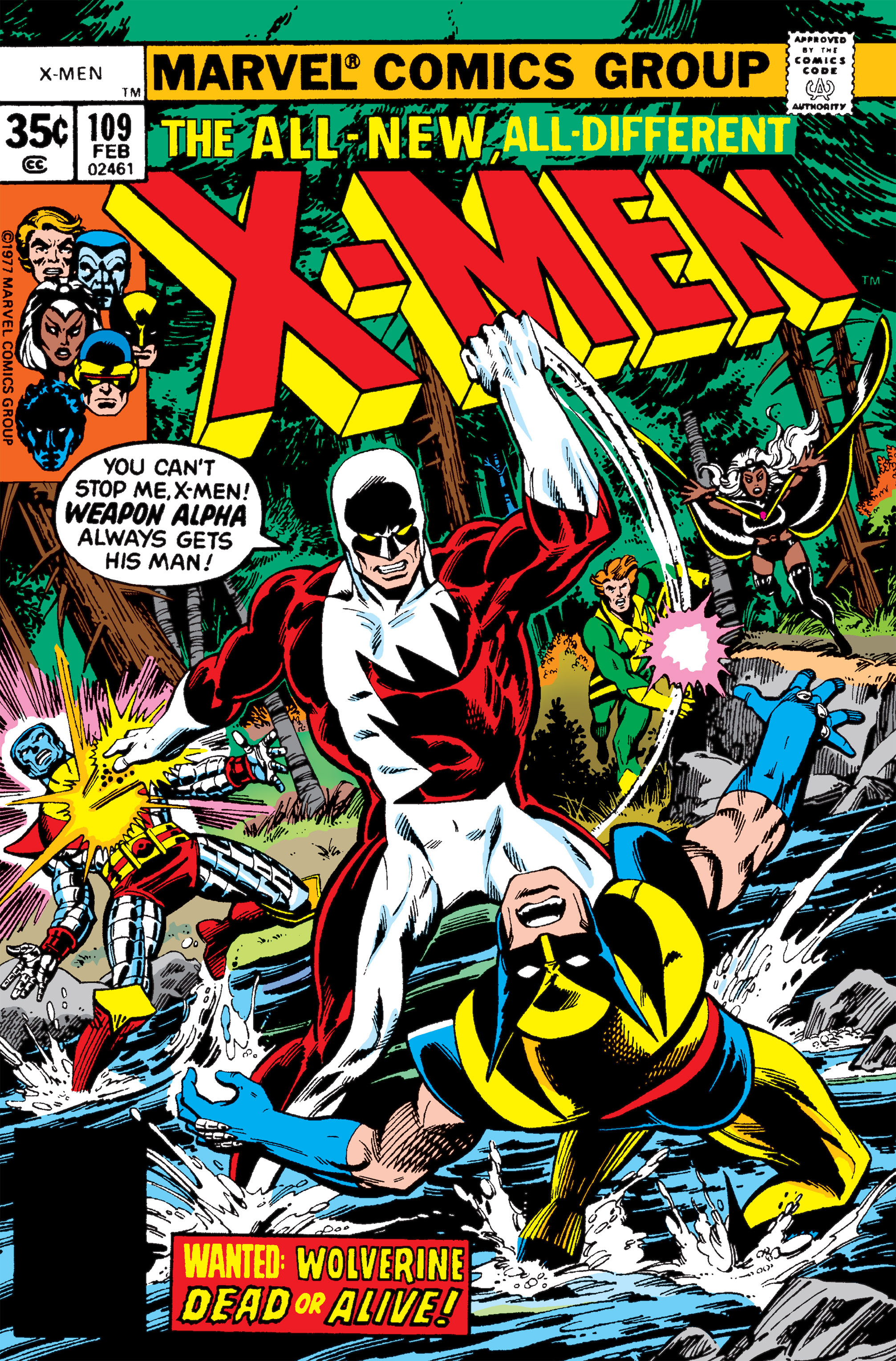 Read online Uncanny X-Men (1963) comic -  Issue #109 - 1