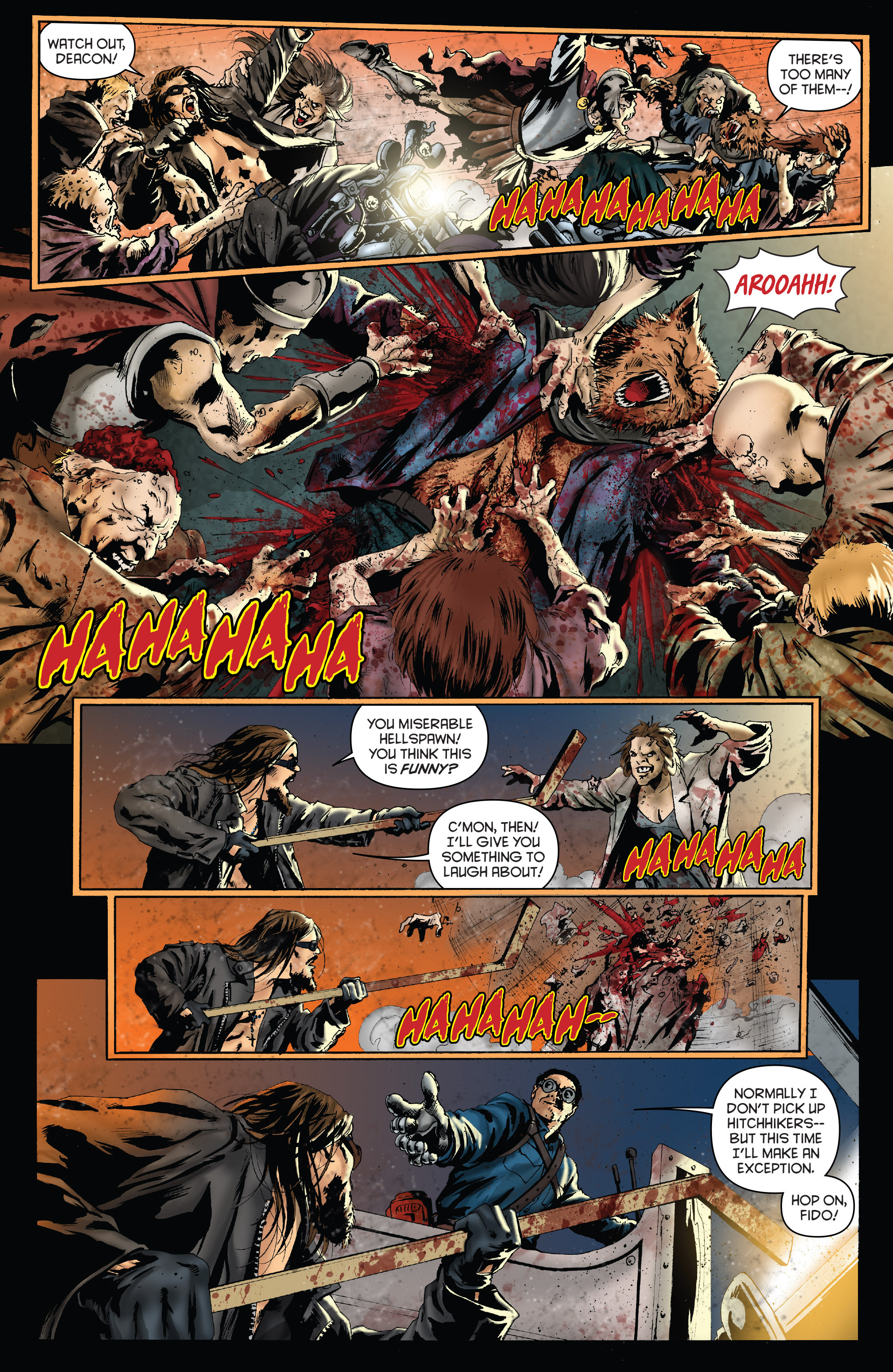 Read online Army of Darkness: Furious Road comic -  Issue #4 - 6