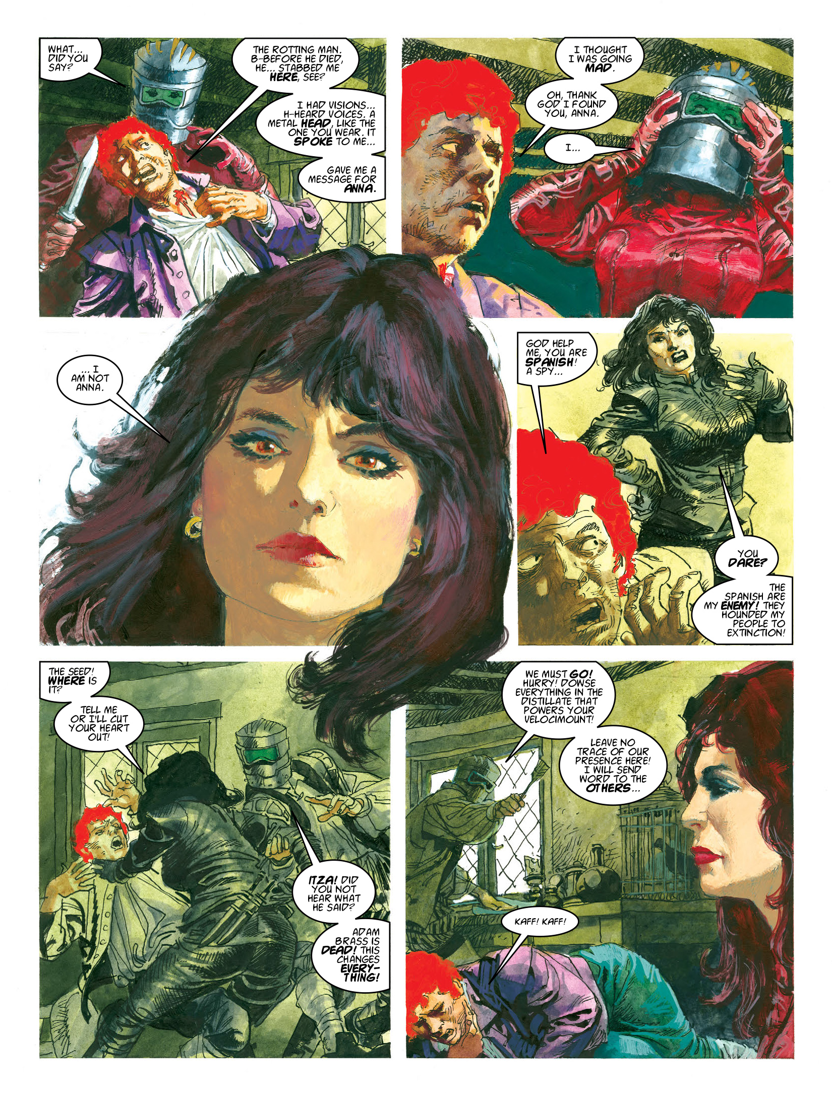 Read online 2000 AD comic -  Issue #1964 - 17