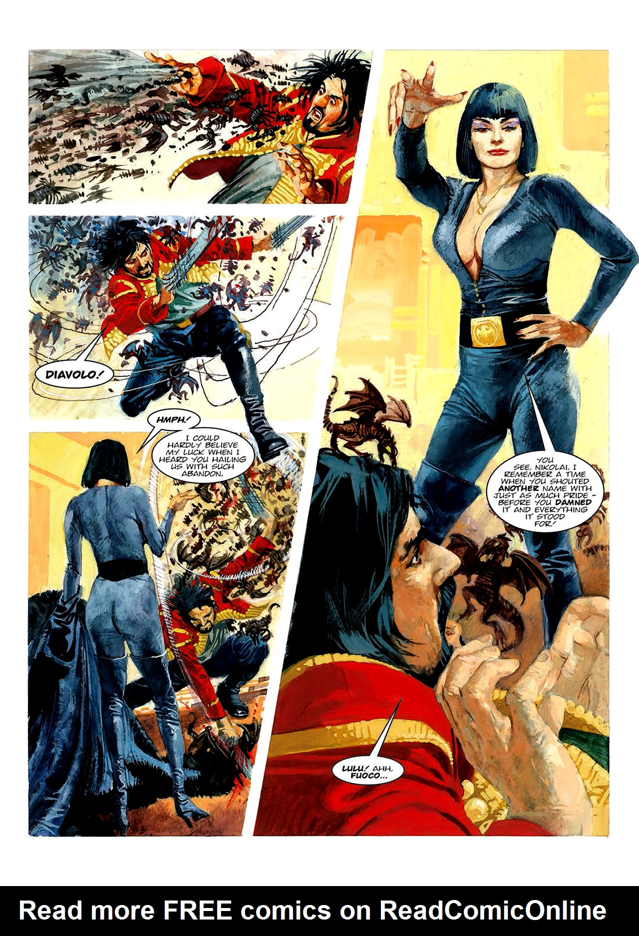 Read online Nikolai Dante comic -  Issue # TPB 6 - 139