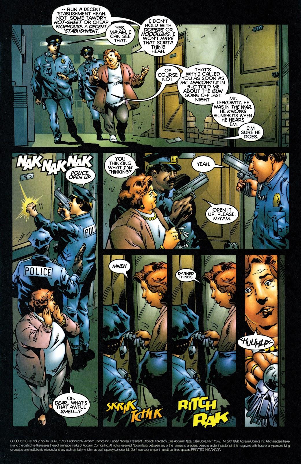 Bloodshot (1997) issue 16 - Page 2