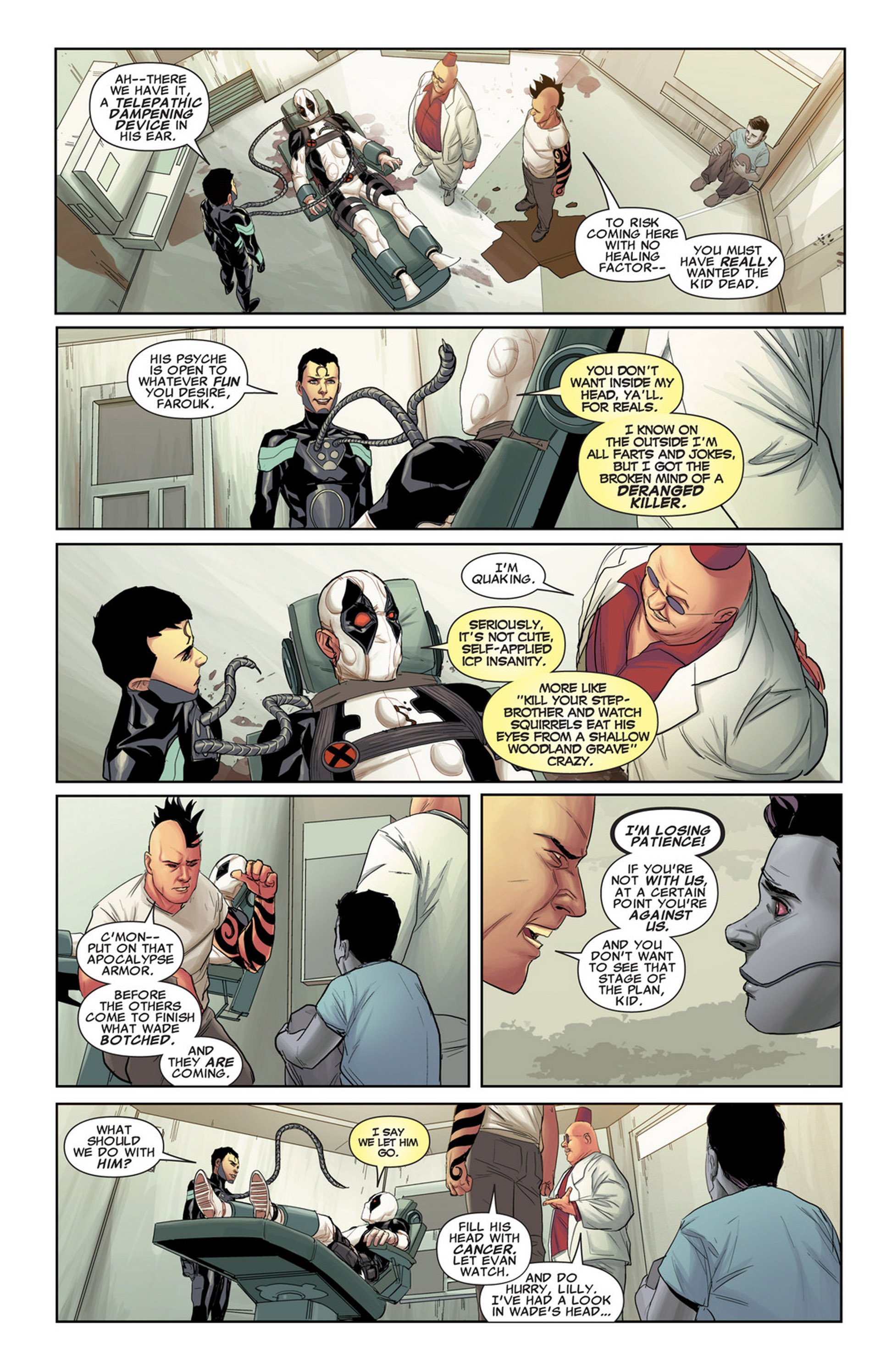 Uncanny X-Force (2010) #32 #34 - English 16