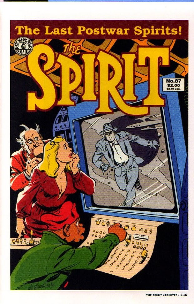 Read online Will Eisner's The Spirit Archives comic -  Issue # TPB 26 (Part 3) - 42