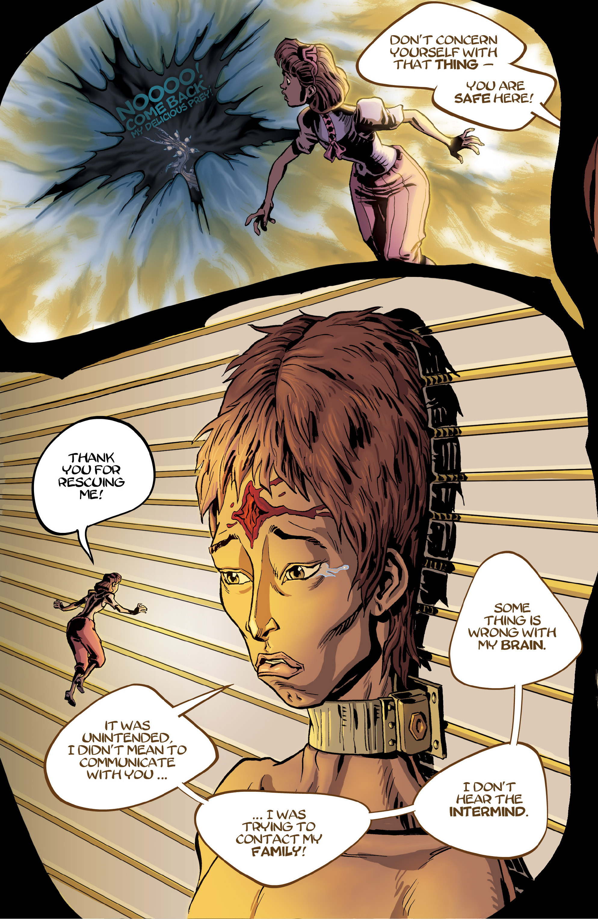Read online 8House comic -  Issue #5 - 6