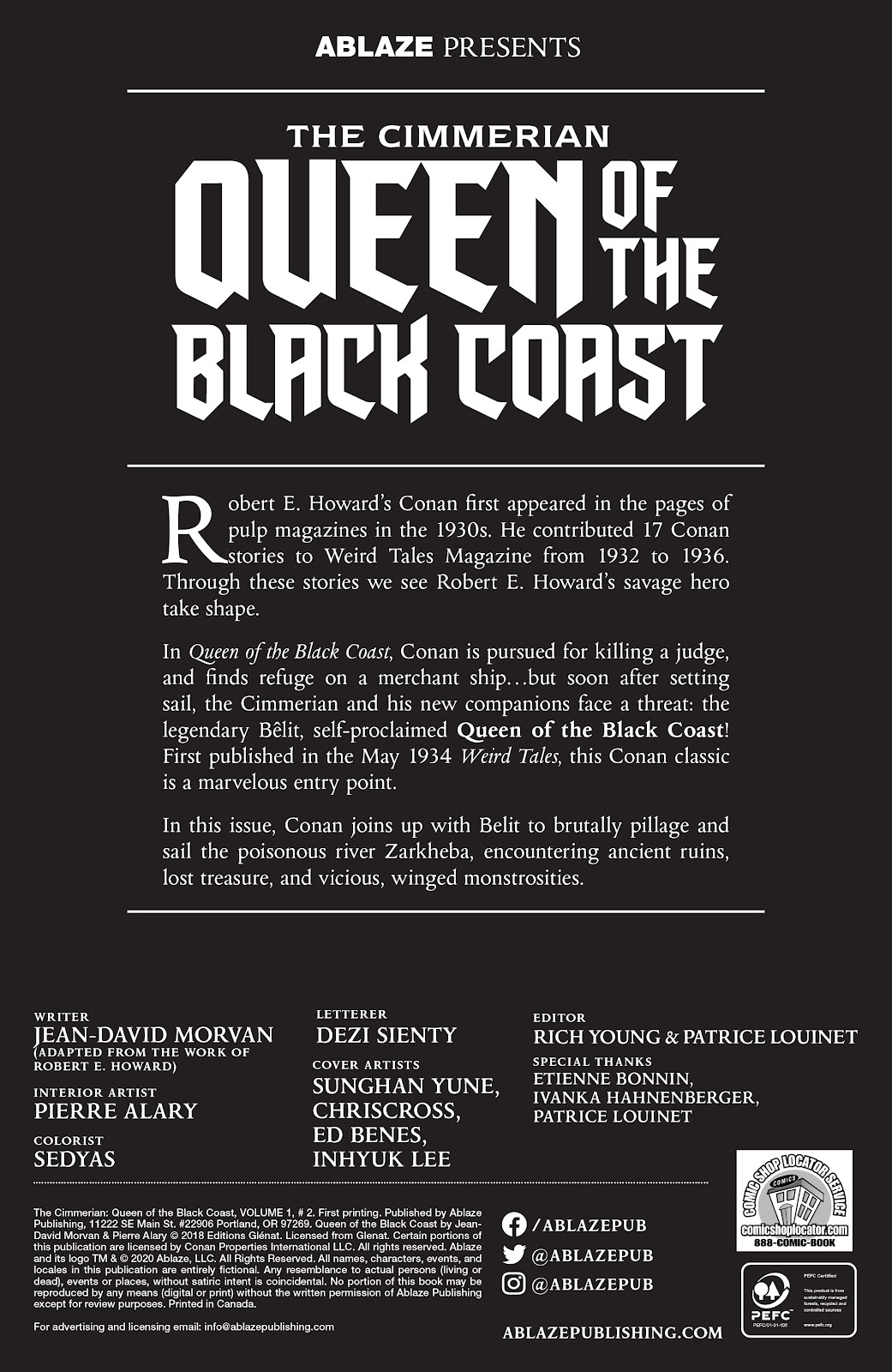 The Cimmerian: Queen of the Black Coast issue 2 - Page 2