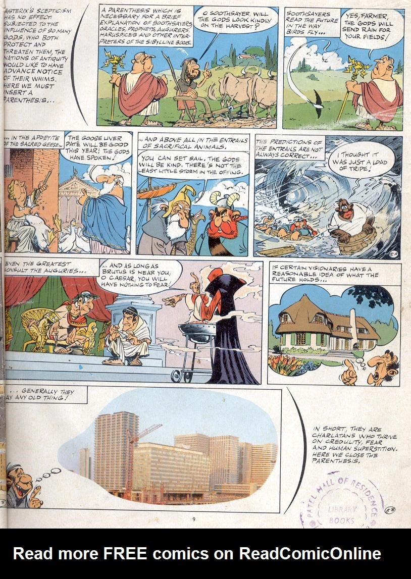 Read online Asterix comic -  Issue #19 - 6
