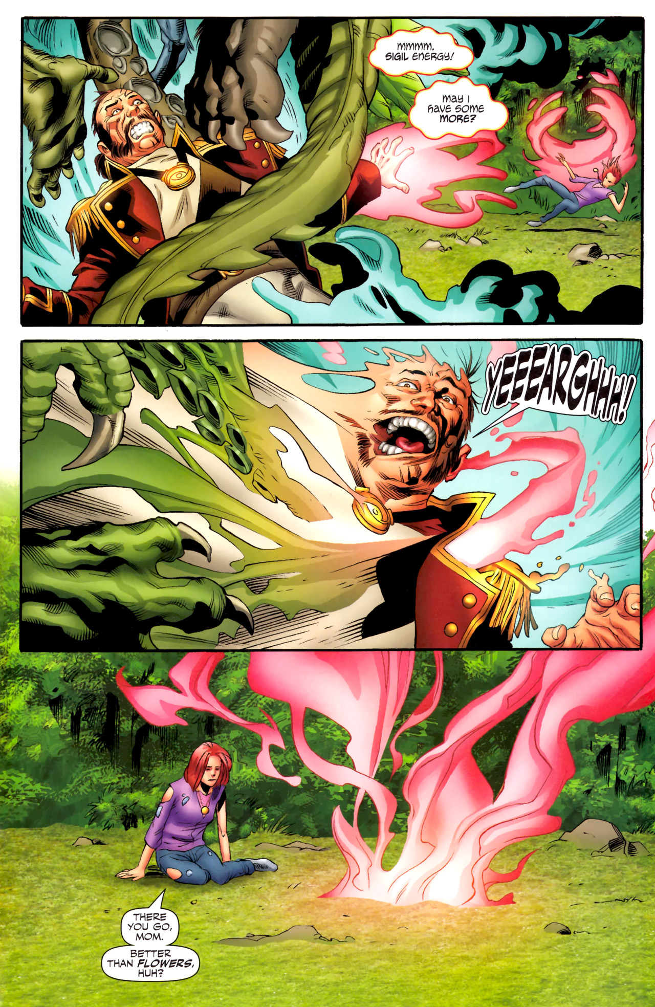 Read online Sigil (2011) comic -  Issue #4 - 16