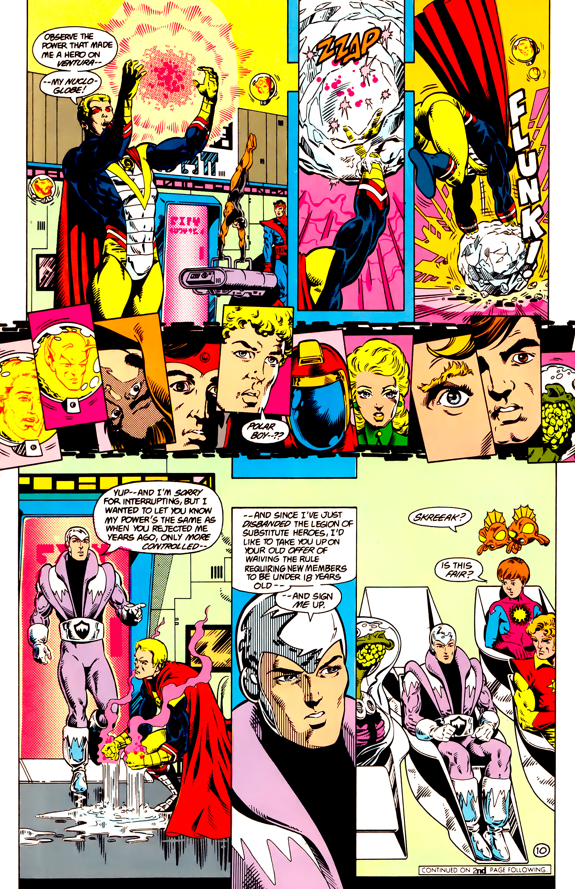 Legion of Super-Heroes (1984) 14 Page 11