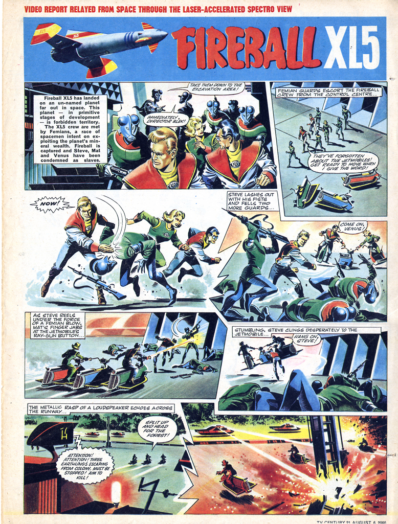 Read online TV Century 21 (TV 21) comic -  Issue #81 - 15