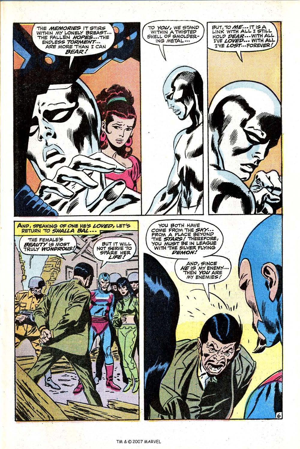 Read online Silver Surfer (1968) comic -  Issue #11 - 9