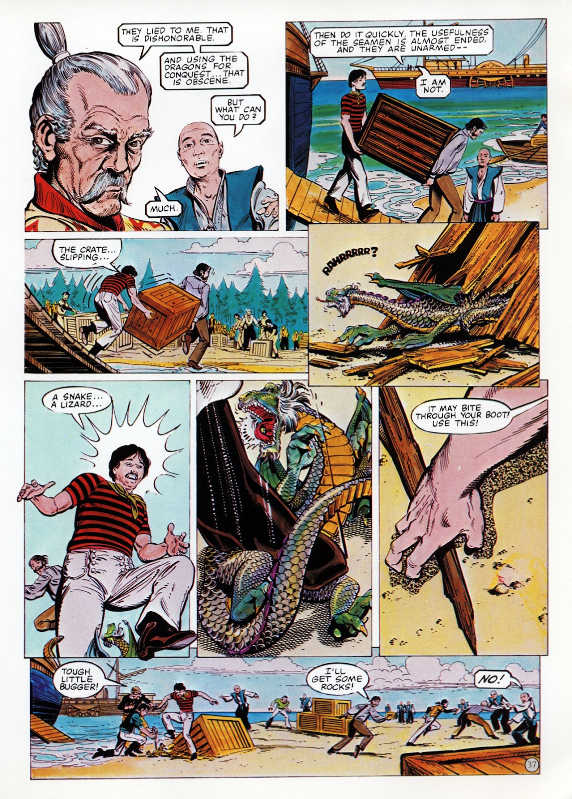 Read online Epic Graphic Novel: Last of the Dragons comic -  Issue # Full - 38