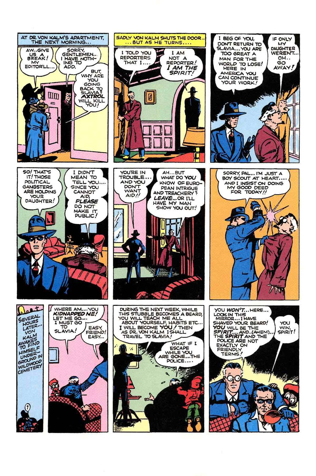Read online Will Eisner's The Spirit Archives comic -  Issue # TPB 1 (Part 2) - 71