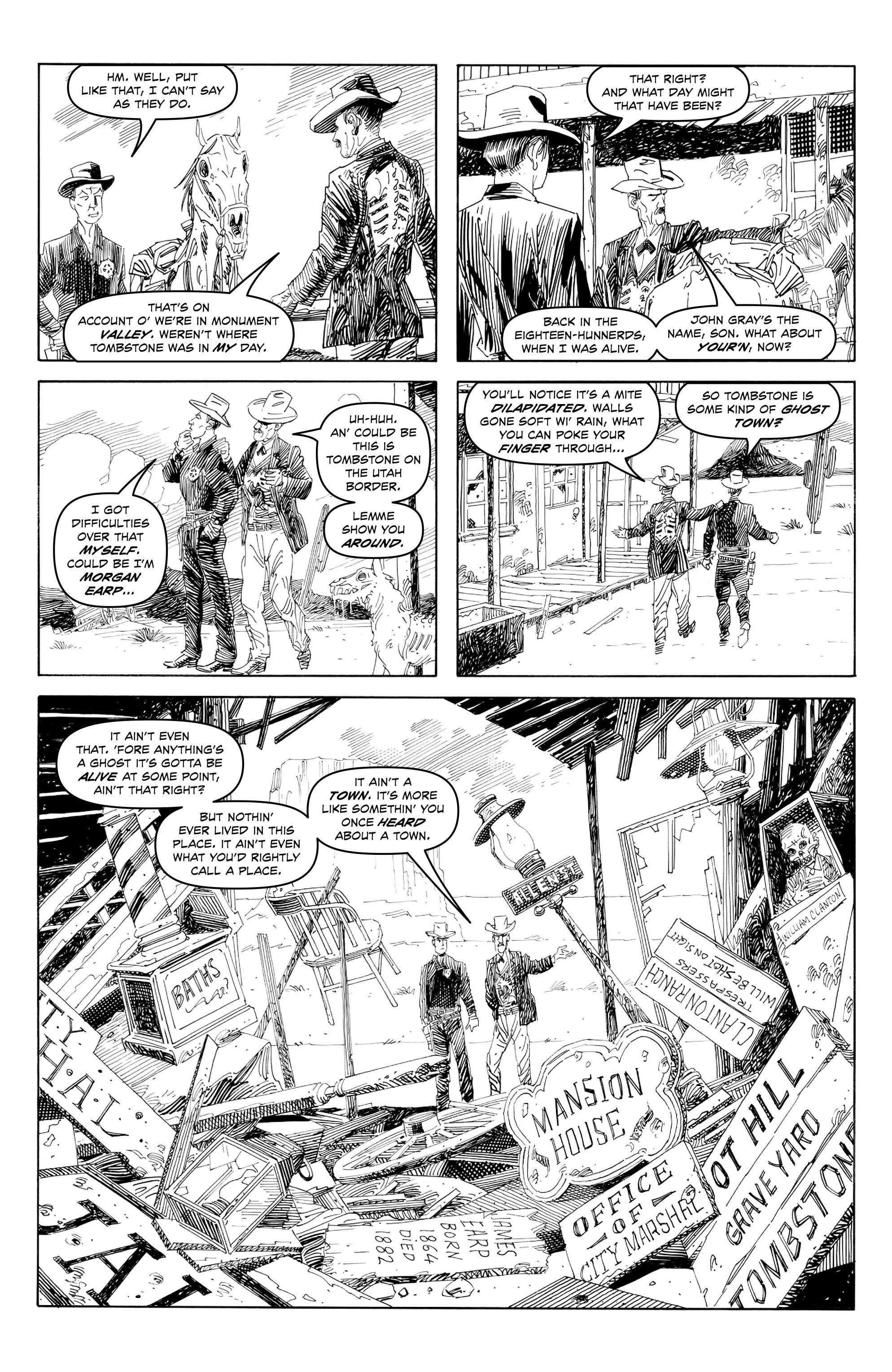 Read online Alan Moore's Cinema Purgatorio comic -  Issue #7 - 7