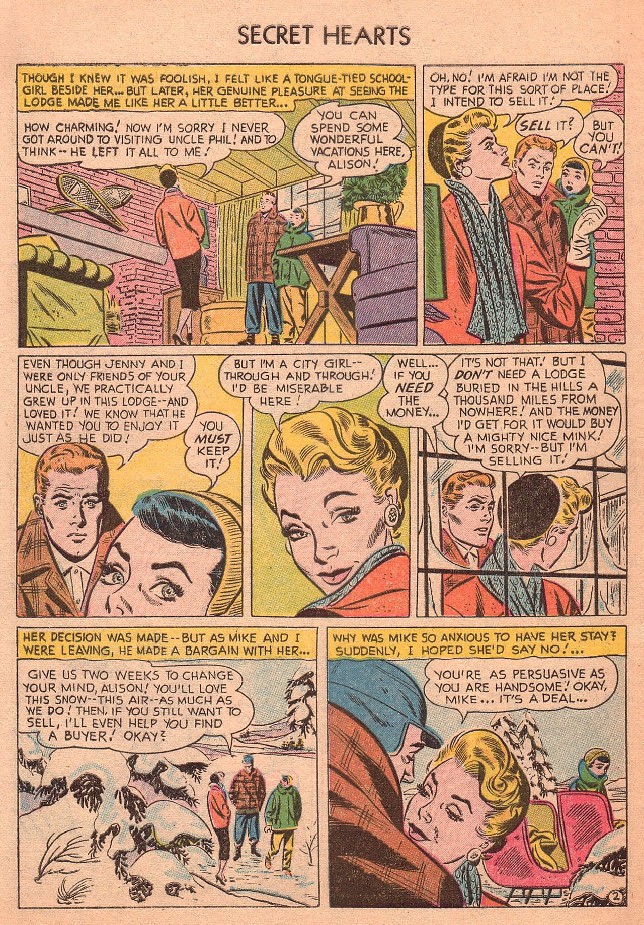 Read online Secret Hearts comic -  Issue #27 - 4