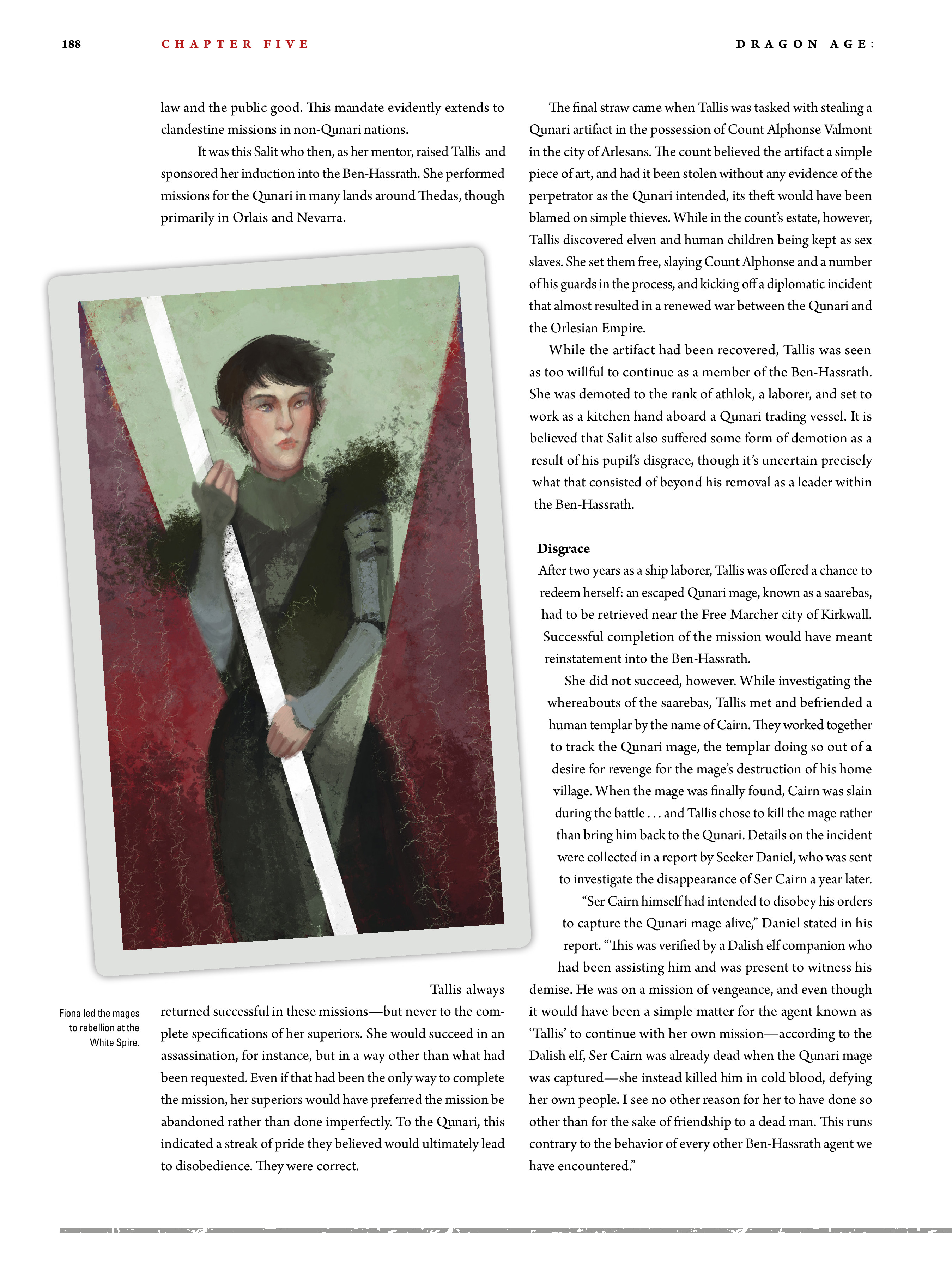 Read online Dragon Age: The World of Thedas comic -  Issue # TPB 2 - 183