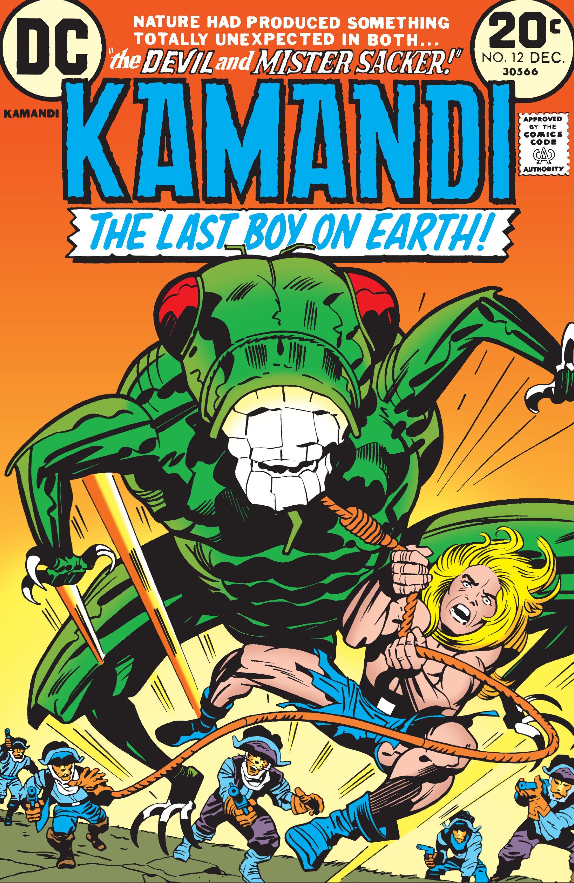 Kamandi, The Last Boy On Earth 12 Page 1