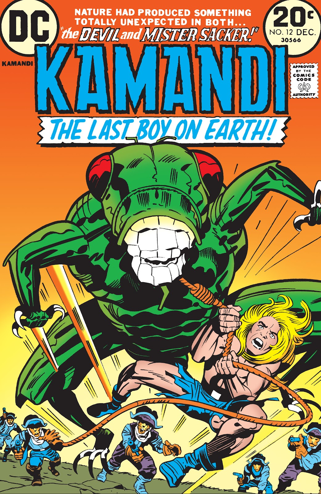 Kamandi, The Last Boy On Earth issue 12 - Page 1