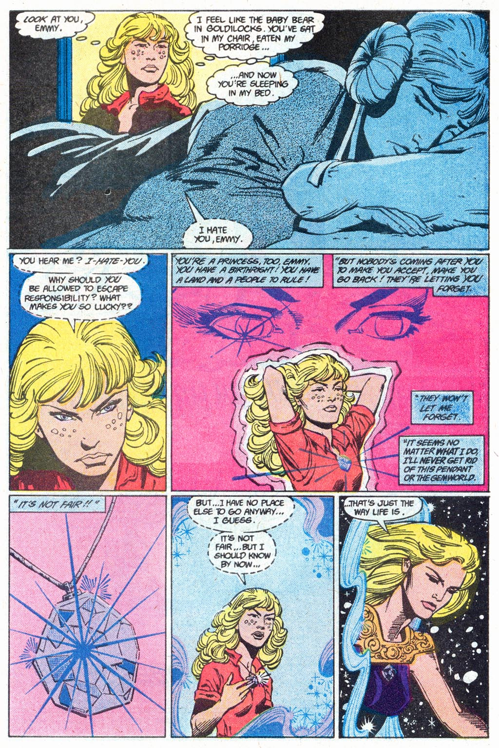 Read online Amethyst (1985) comic -  Issue #16 - 31