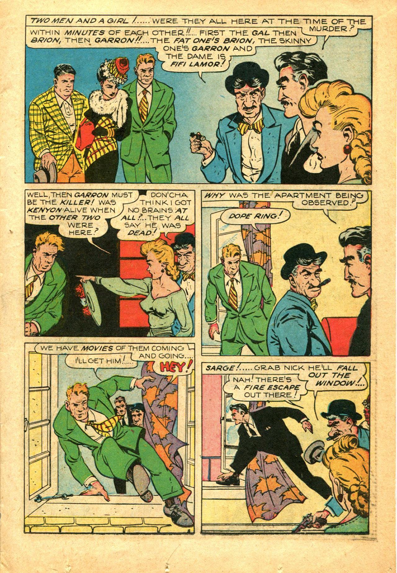 Read online Shadow Comics comic -  Issue #78 - 19
