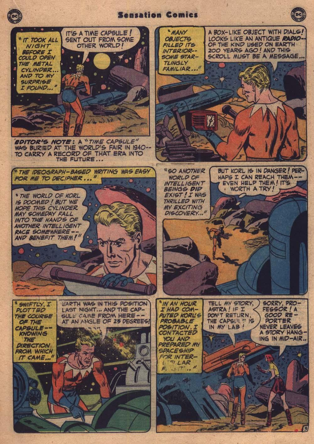 Read online Sensation (Mystery) Comics comic -  Issue #103 - 16