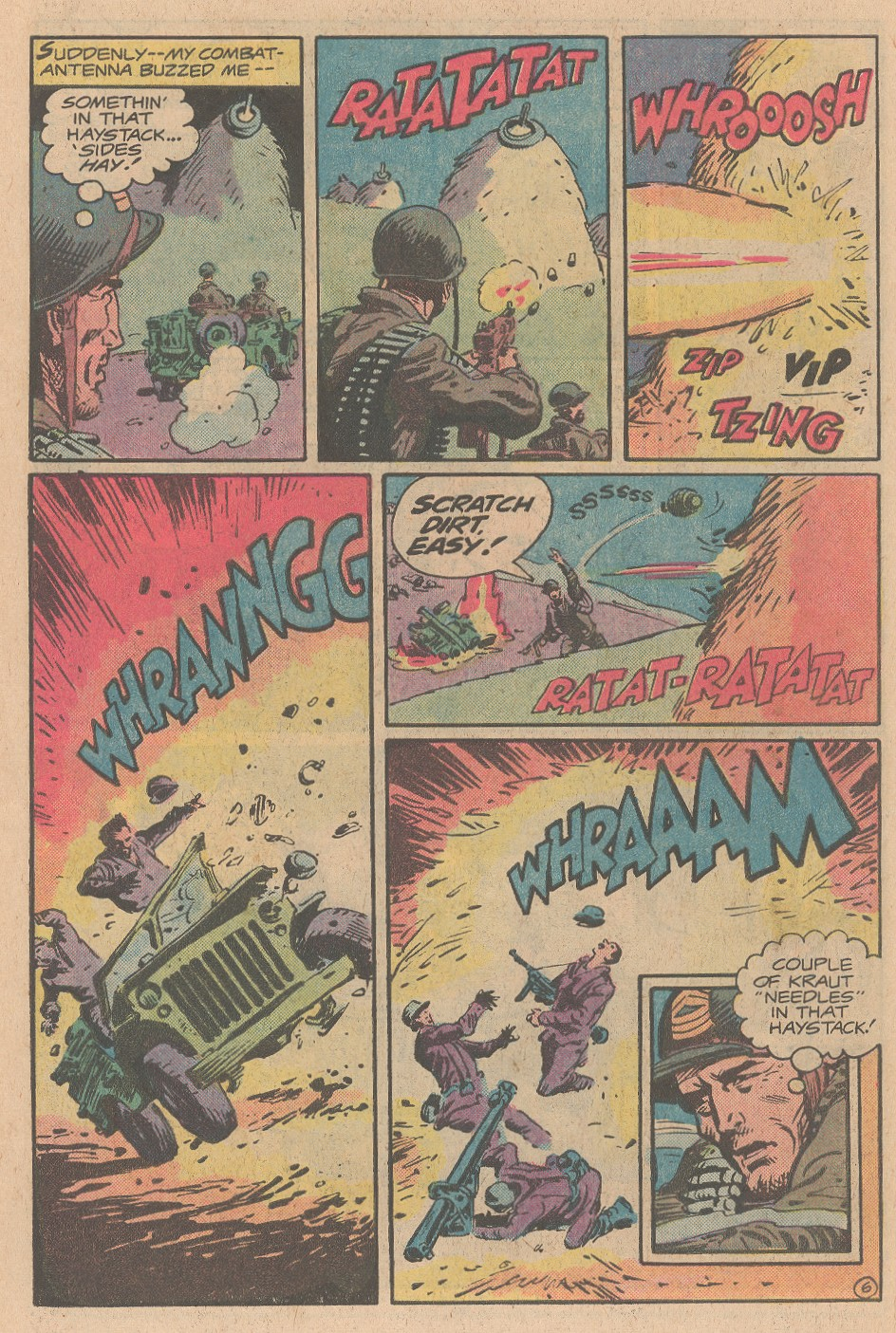 Read online Sgt. Rock comic -  Issue #353 - 7