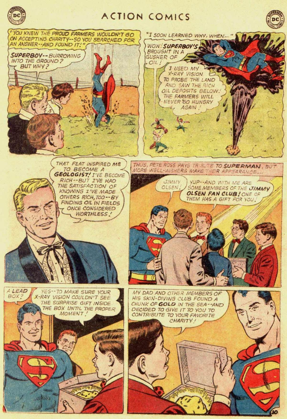 Read online Action Comics (1938) comic -  Issue #309 - 12