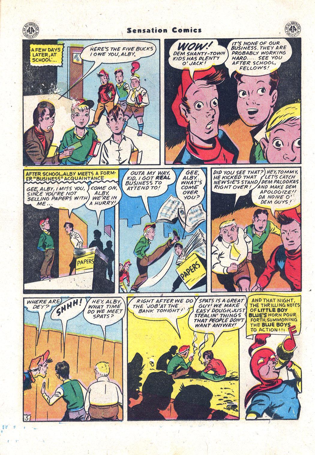 Read online Sensation (Mystery) Comics comic -  Issue #43 - 17