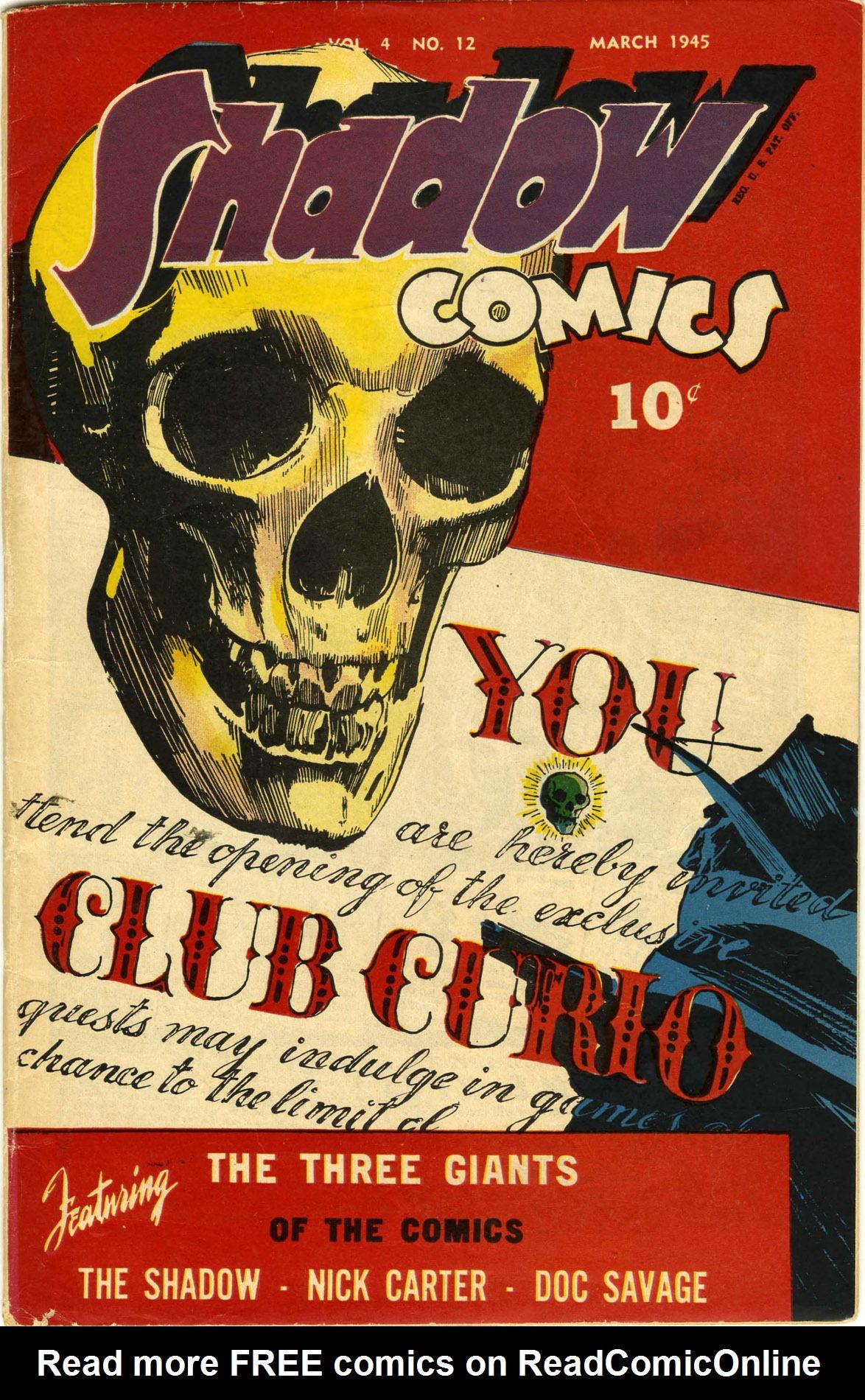Read online Shadow Comics comic -  Issue #48 - 1