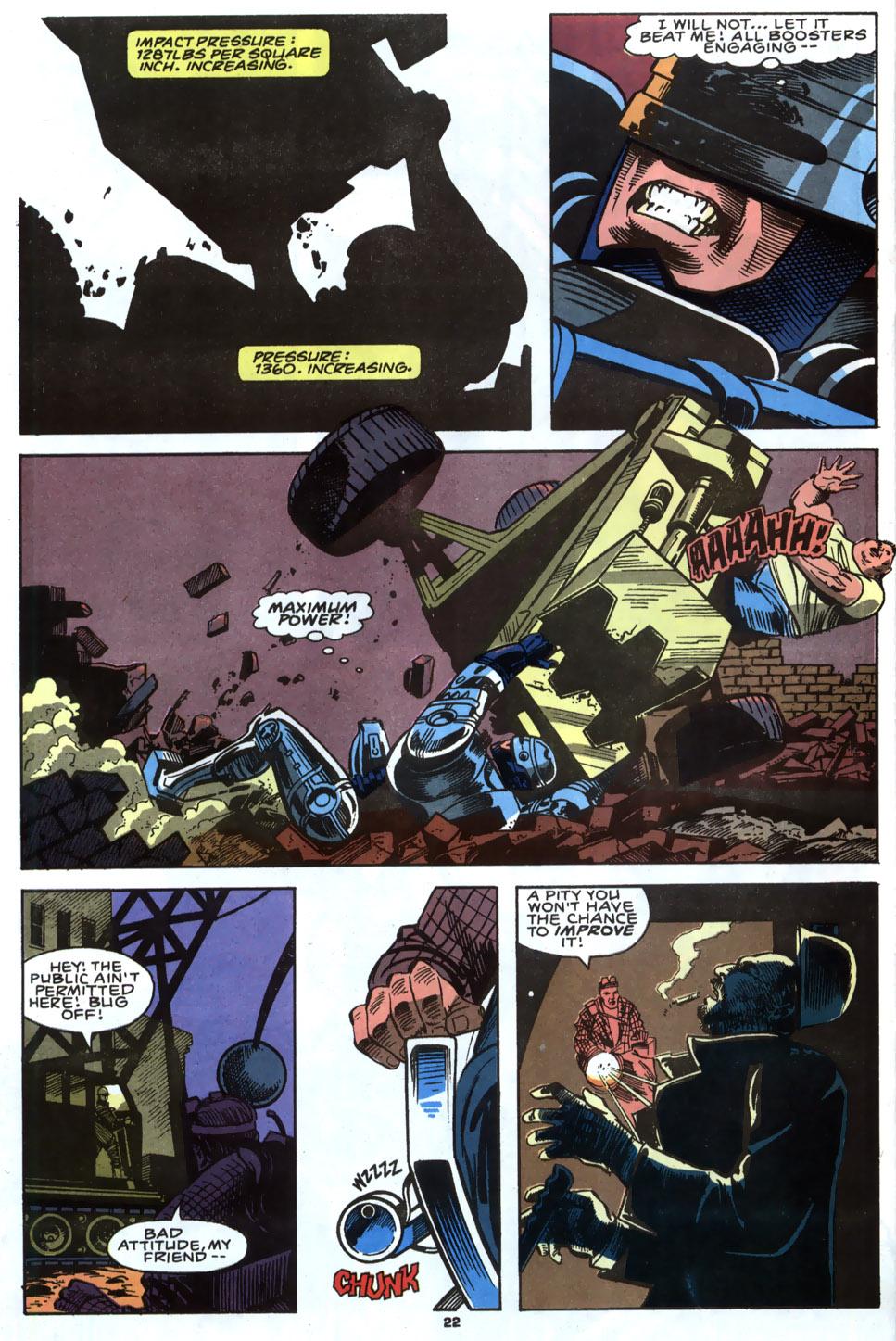Read online Robocop (1990) comic -  Issue #4 - 18