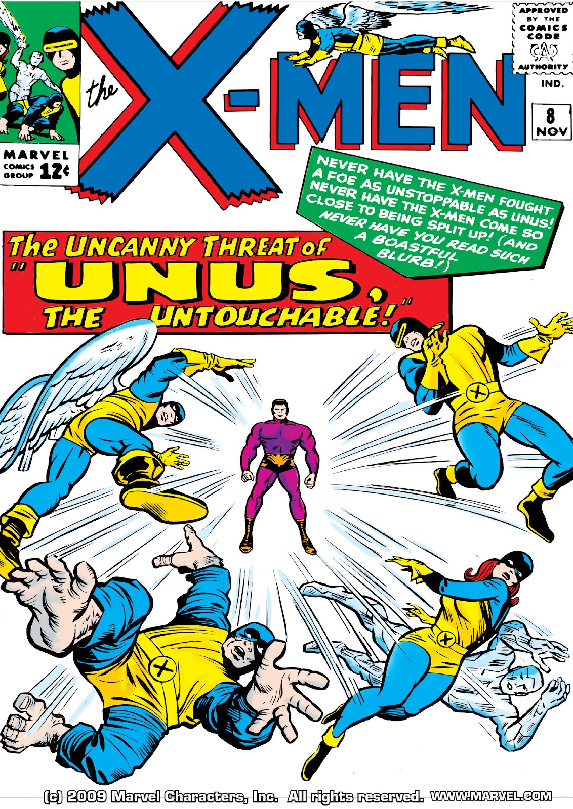 Uncanny X-Men (1963) issue 8 - Page 1