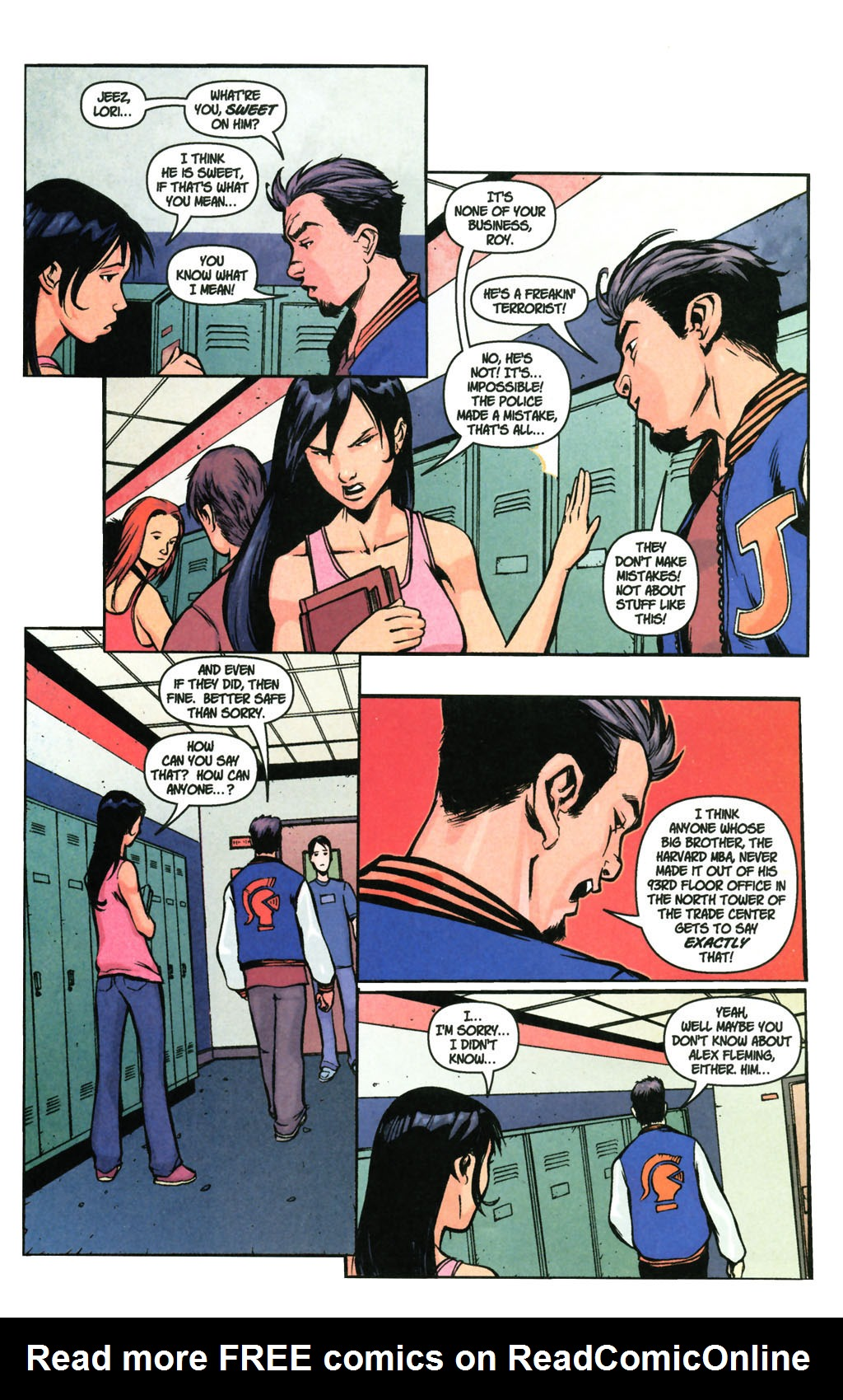 Read online SpyBoy: Final Exam comic -  Issue #3 - 19