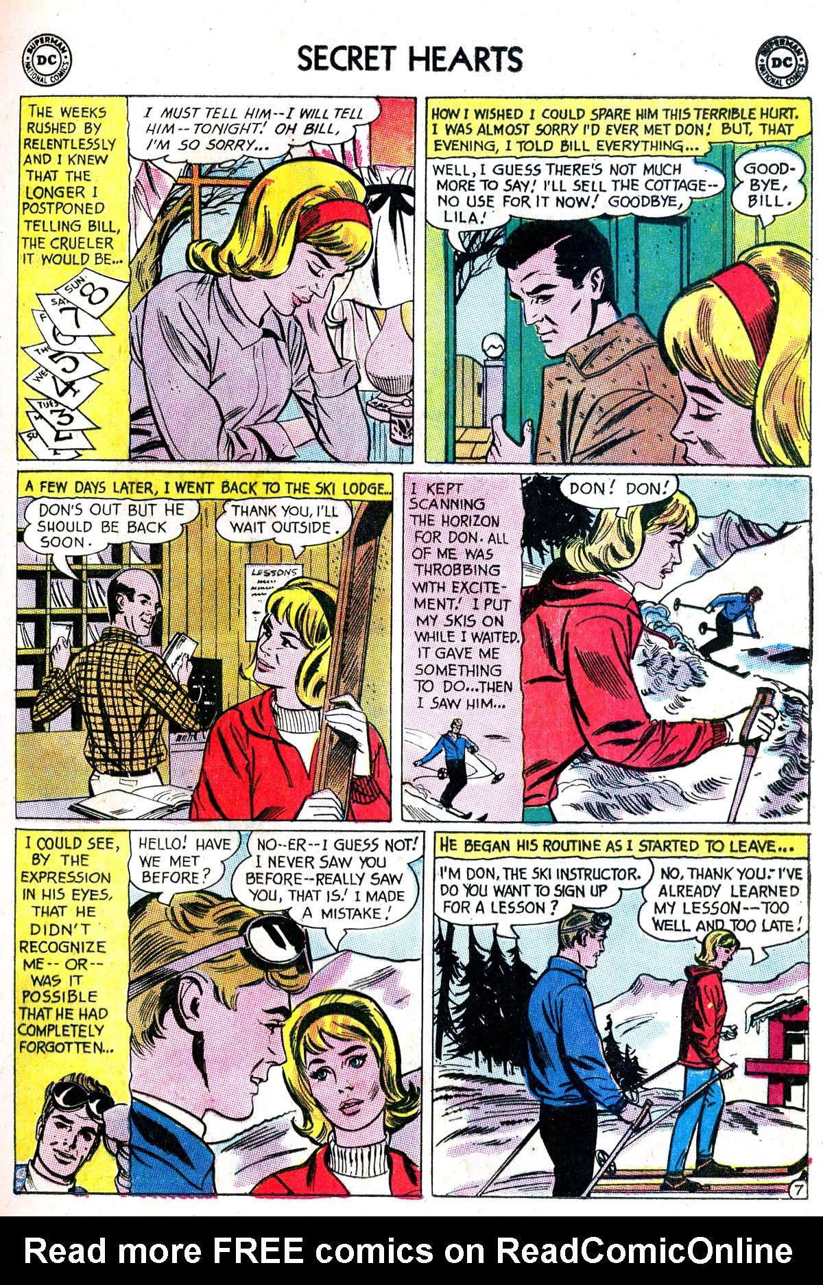 Read online Secret Hearts comic -  Issue #87 - 9