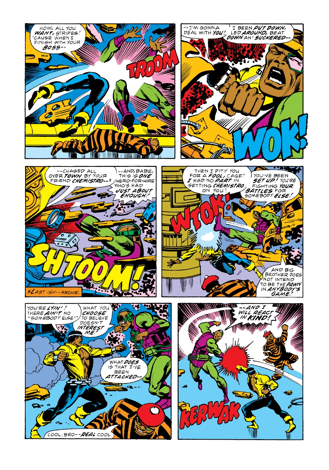 Read online Marvel Masterworks: Luke Cage, Power Man comic -  Issue # TPB 3 (Part 2) - 58