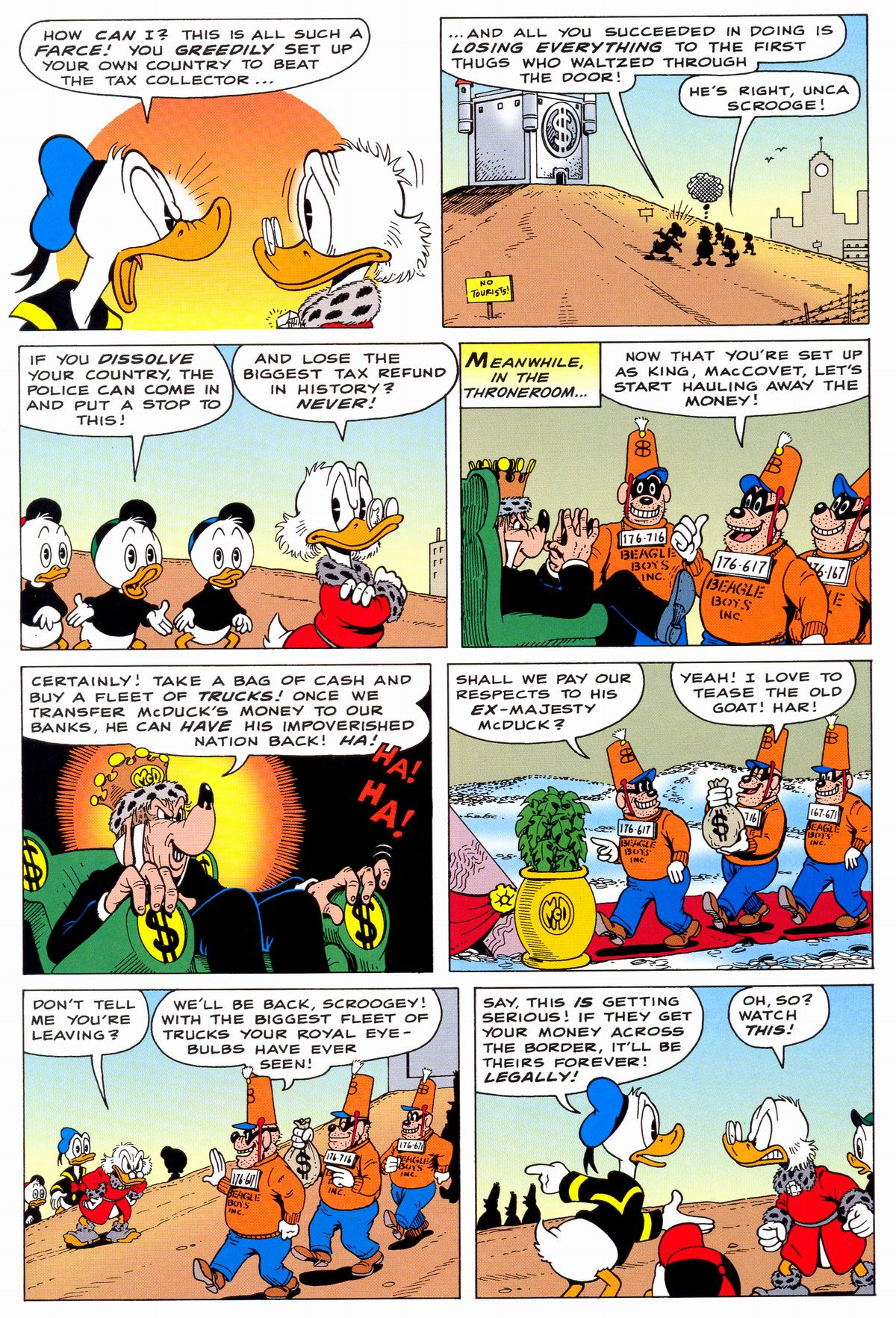 Read online Uncle Scrooge (1953) comic -  Issue #331 - 23