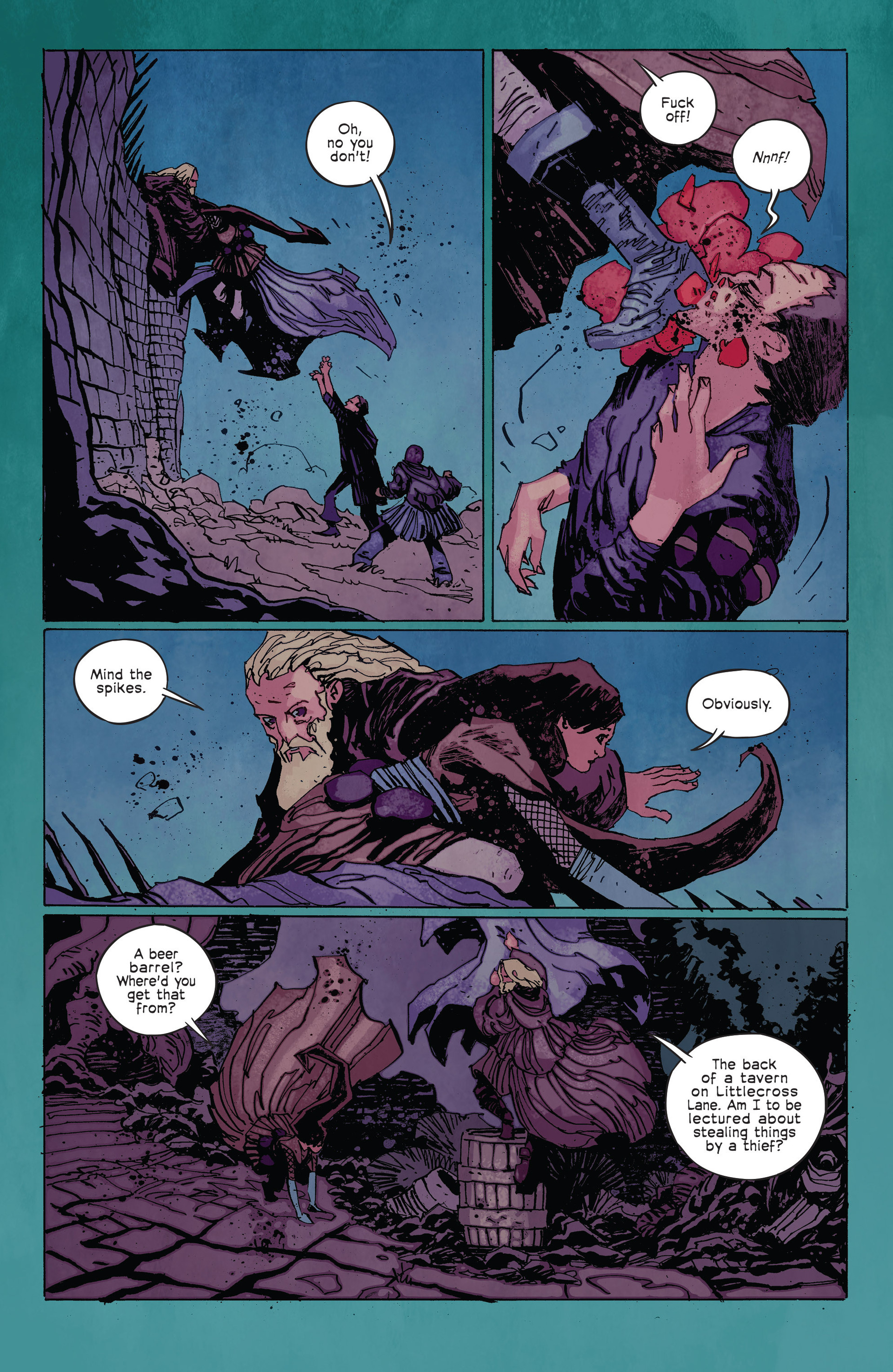 Read online Umbral comic -  Issue #2 - 10