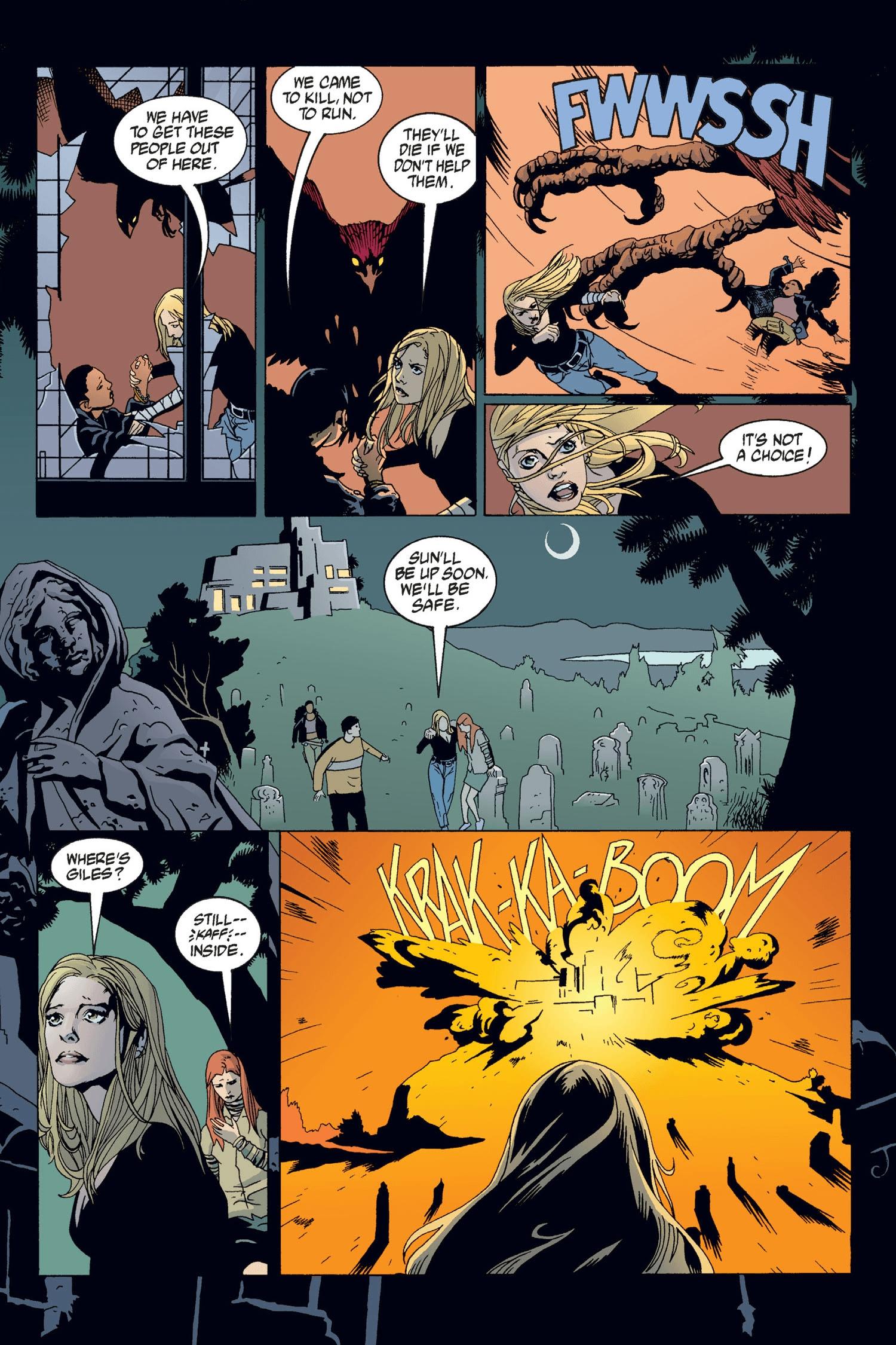 Read online Buffy the Vampire Slayer: Omnibus comic -  Issue # TPB 2 - 198