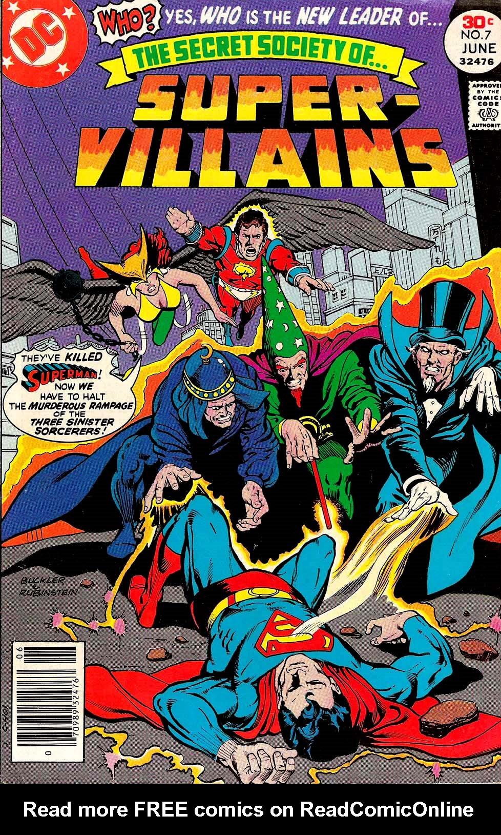 Read online Secret Society of Super-Villains comic -  Issue #7 - 1