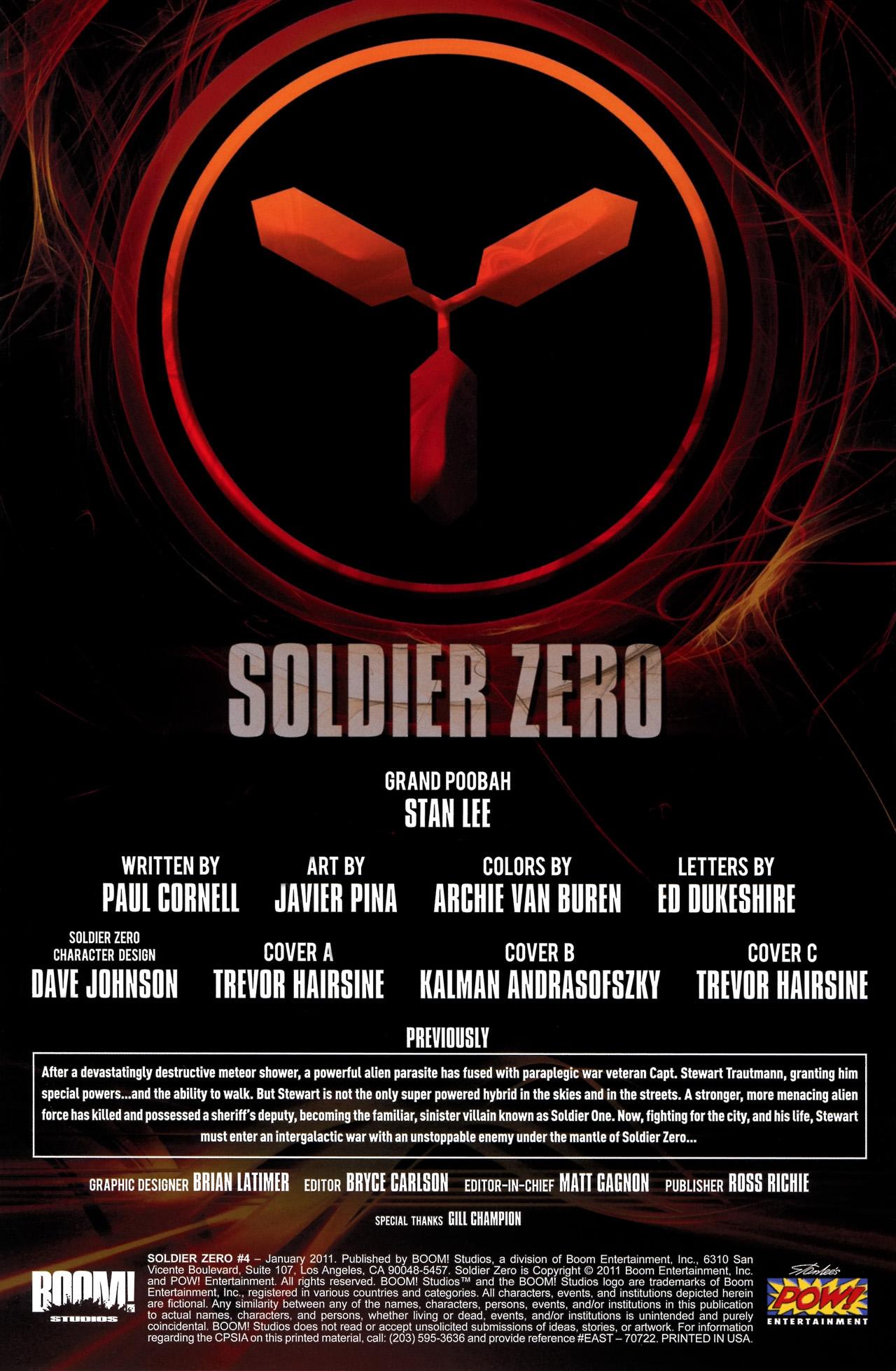 Read online Soldier Zero comic -  Issue #4 - 4