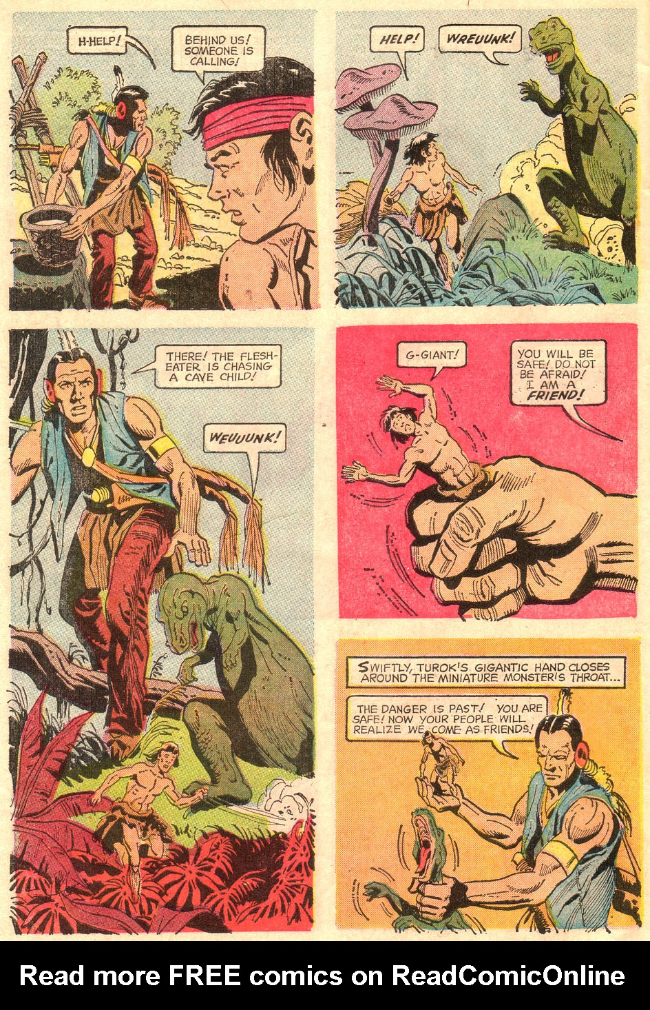 Read online Turok, Son of Stone comic -  Issue #67 - 6