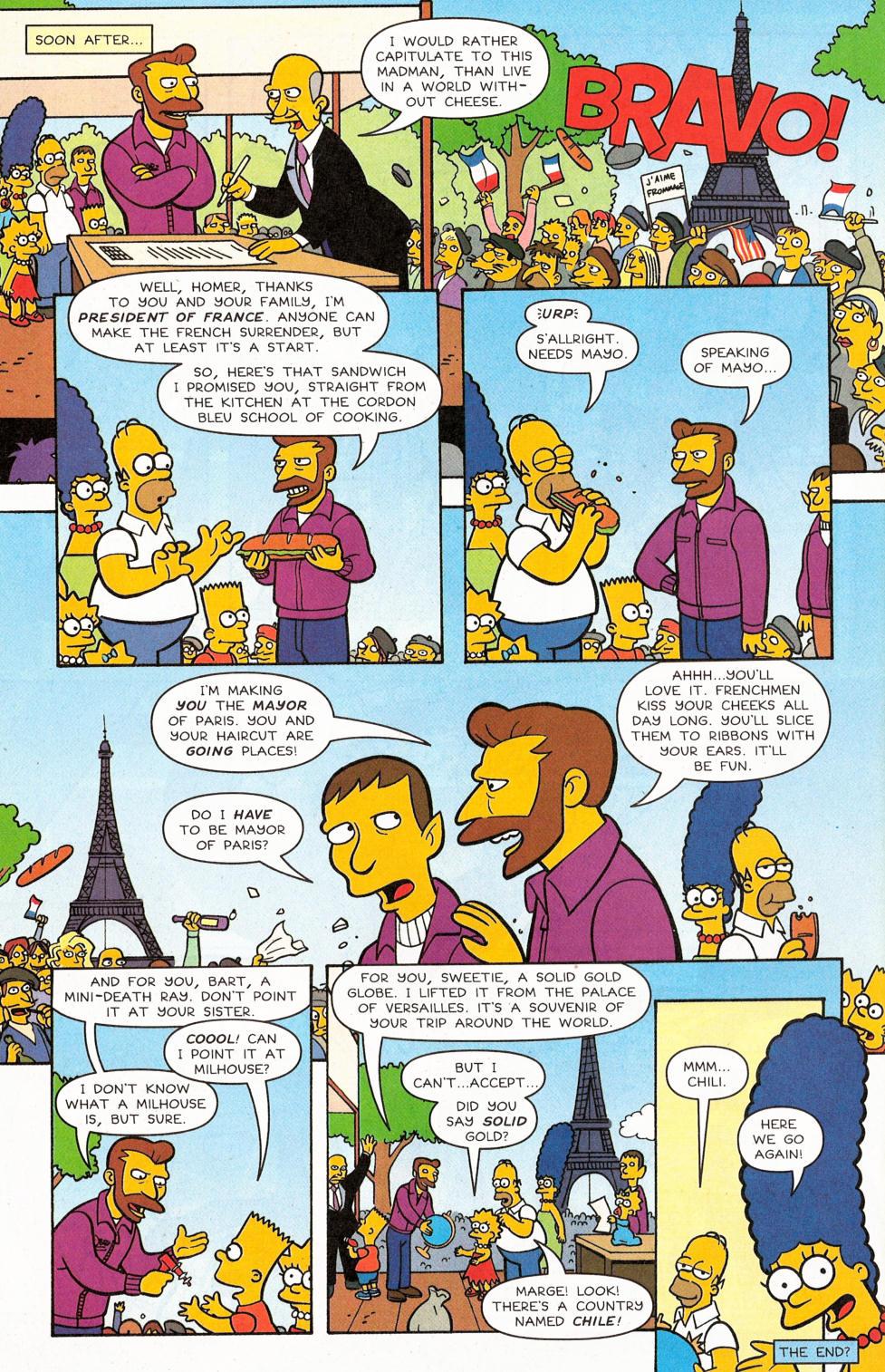 Read online Simpsons Comics comic -  Issue #117 - 26